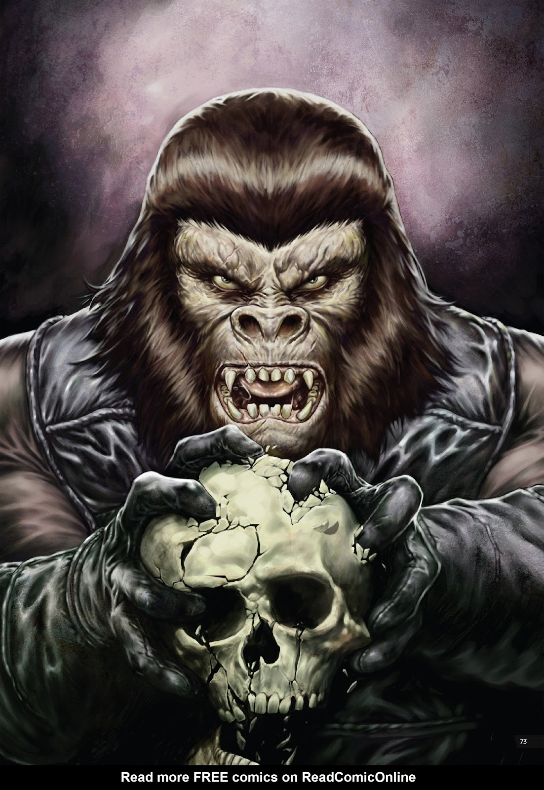 Read online Planet of the Apes Artist Tribute comic -  Issue # TPB - 73