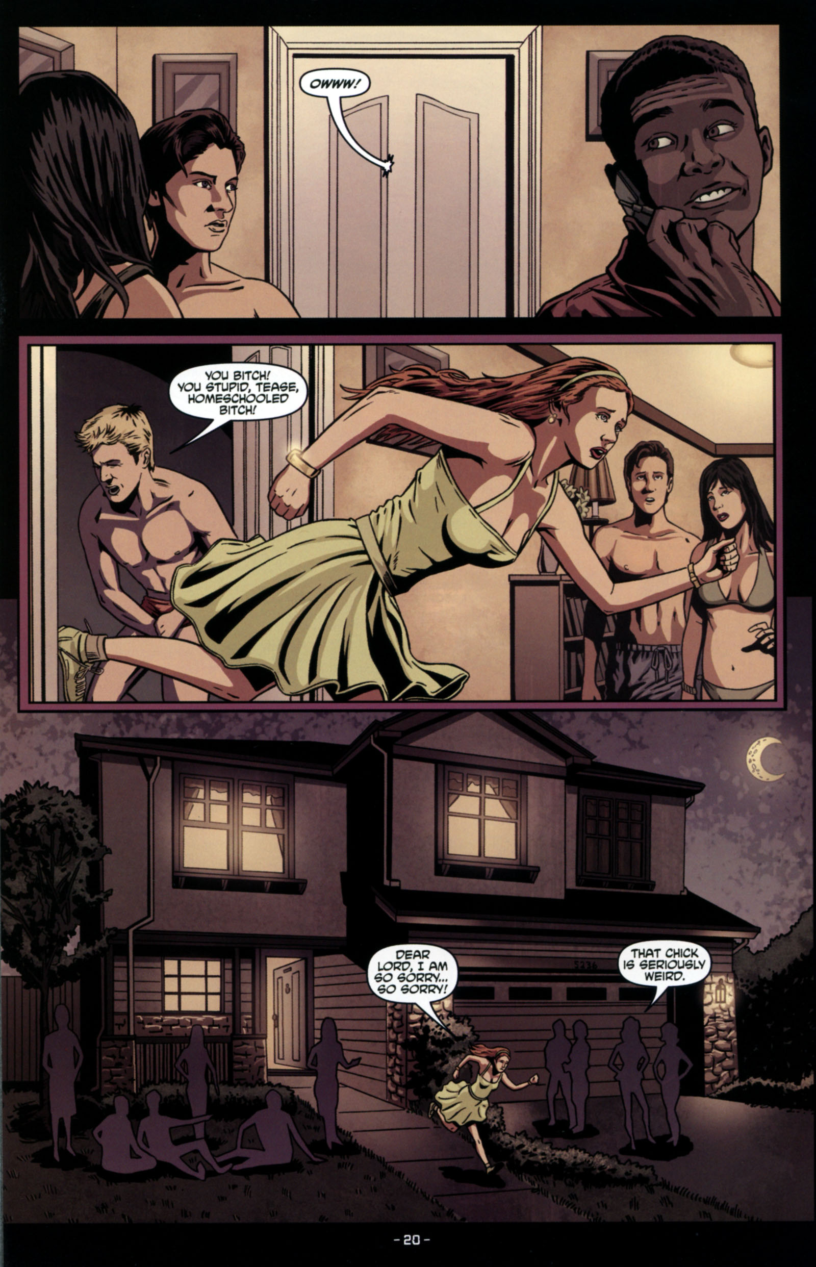 Read online True Blood: Tainted Love comic -  Issue #4 - 22