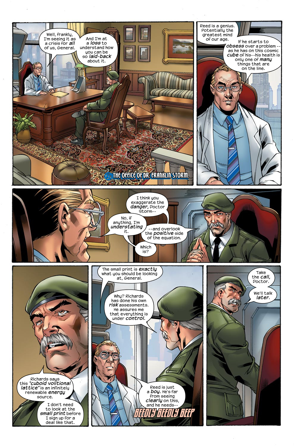 Read online Ultimate Fantastic Four (2004) comic -  Issue #47 - 9