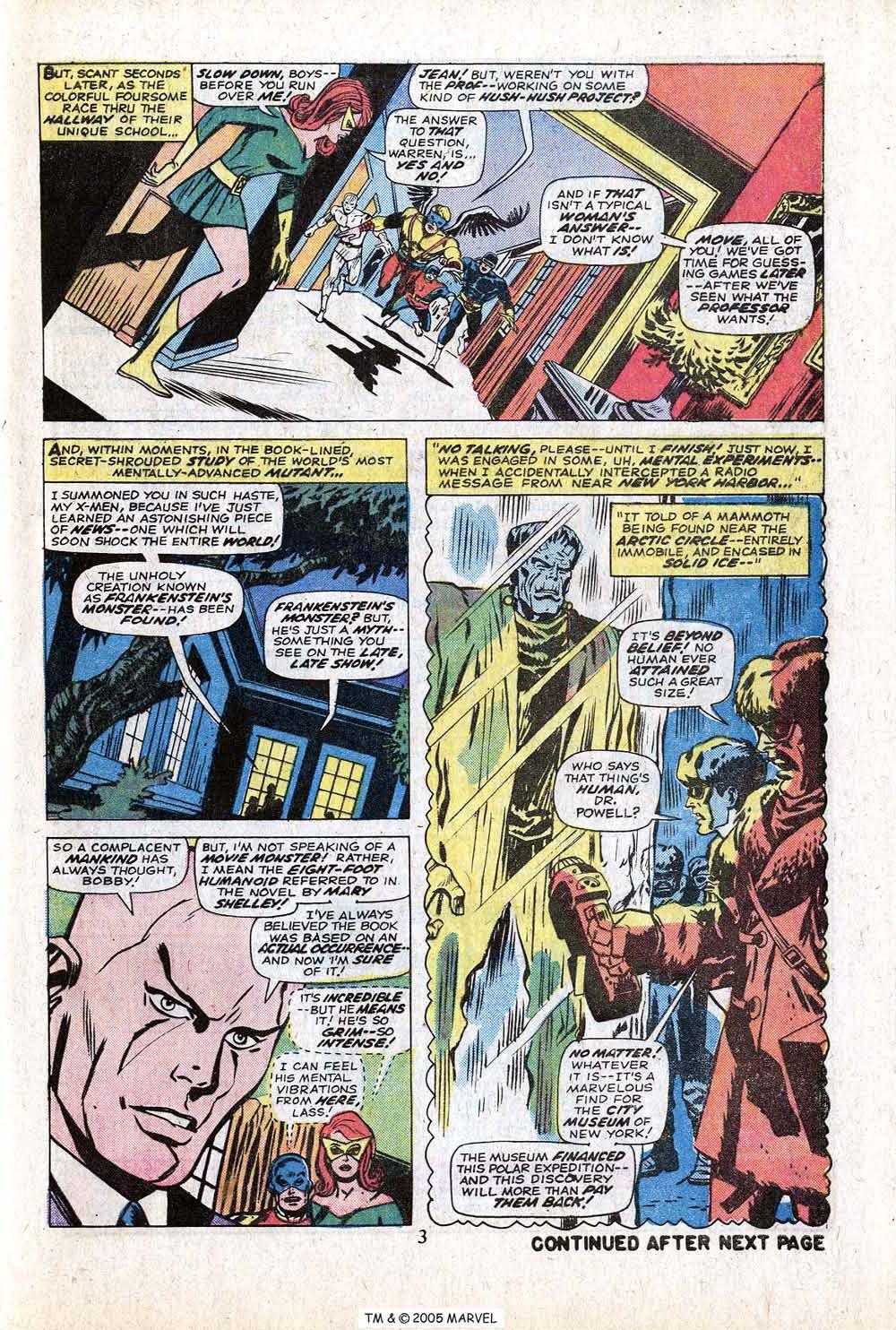 Uncanny X-Men (1963) 88 Page 4