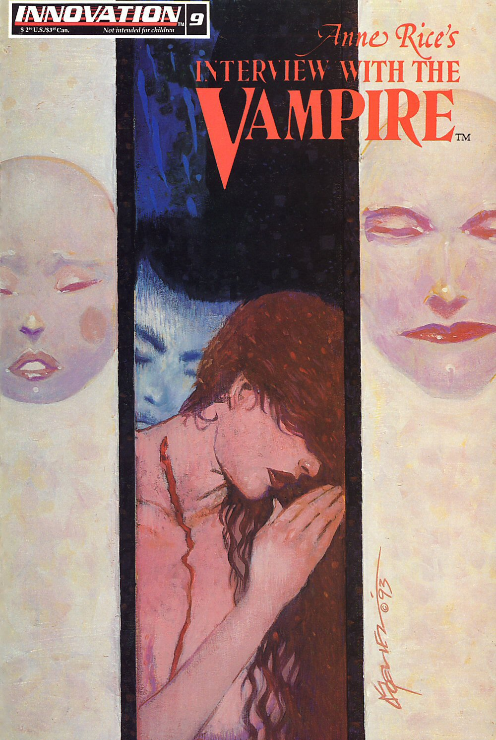 Read online Anne Rice's Interview with the Vampire comic -  Issue #9 - 1