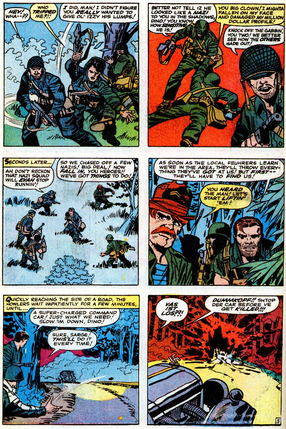 Read online Sgt. Fury comic -  Issue # _Special 5 - 42