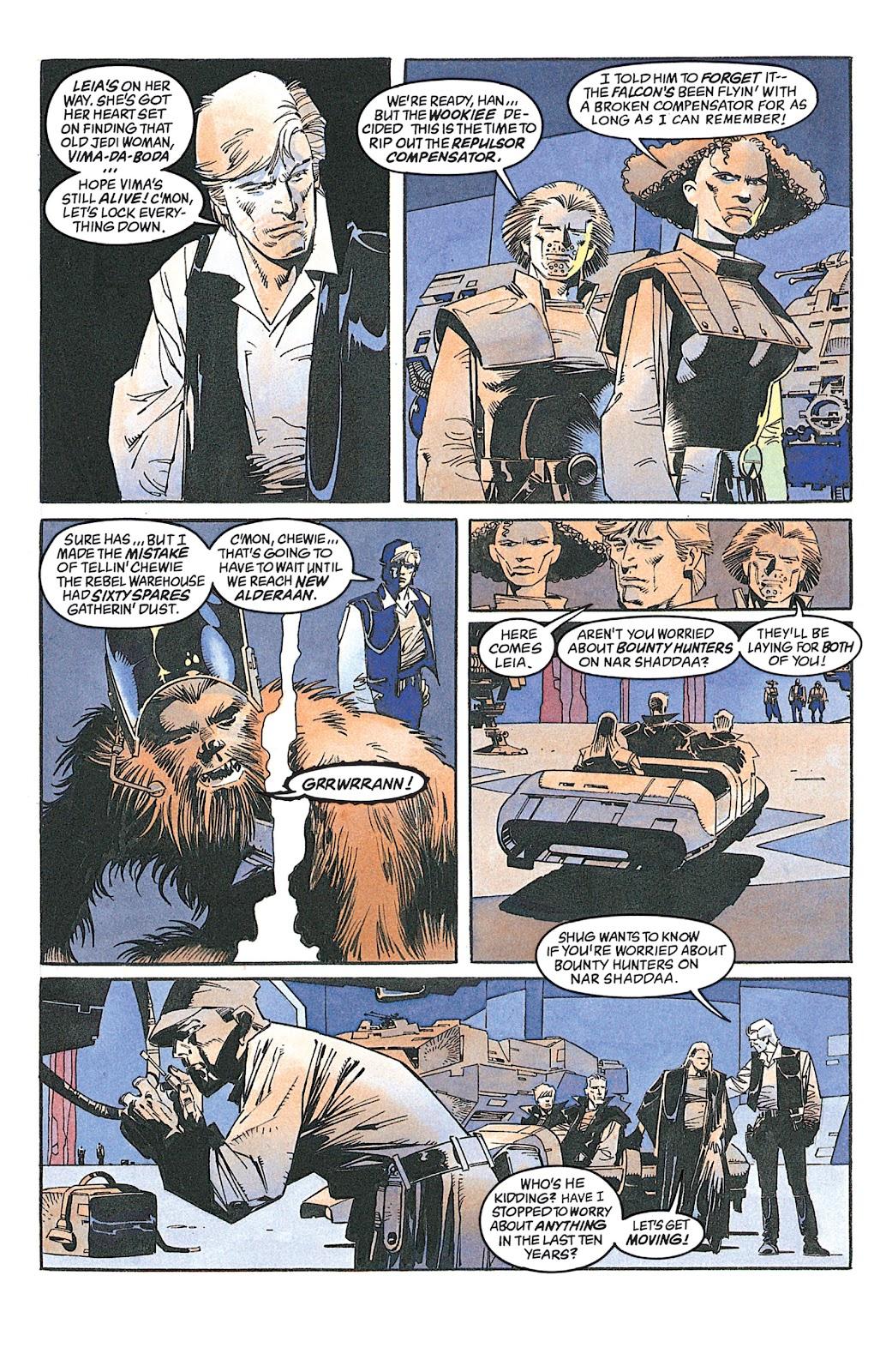 Read online Star Wars: Dark Empire Trilogy comic -  Issue # TPB (Part 2) - 75