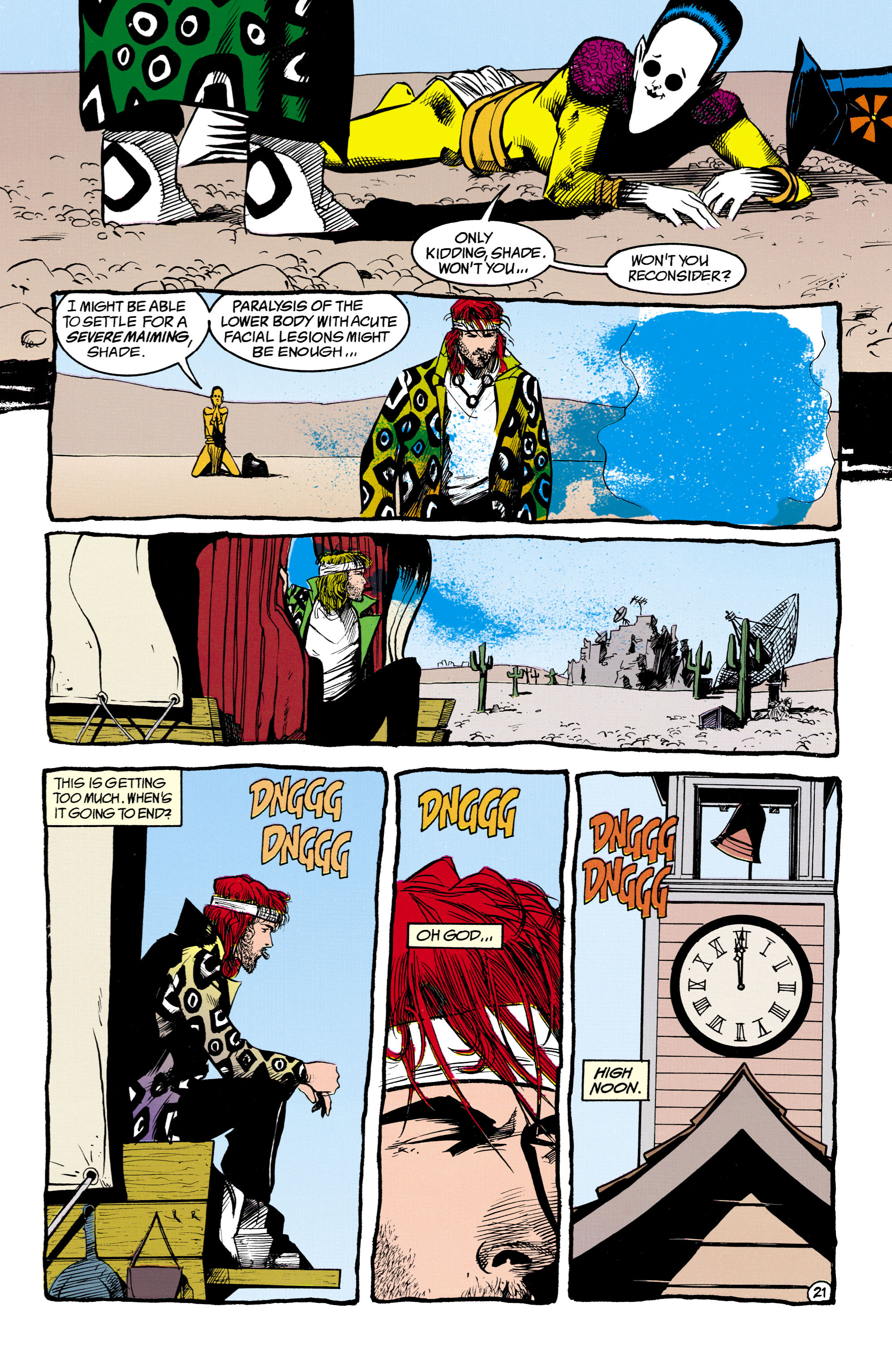Read online Shade, the Changing Man comic -  Issue #16 - 21