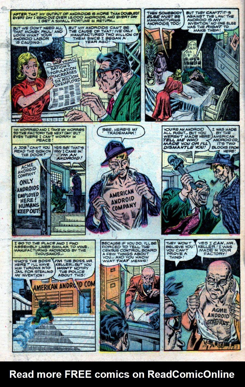 Read online Adventures into Weird Worlds comic -  Issue #27 - 31