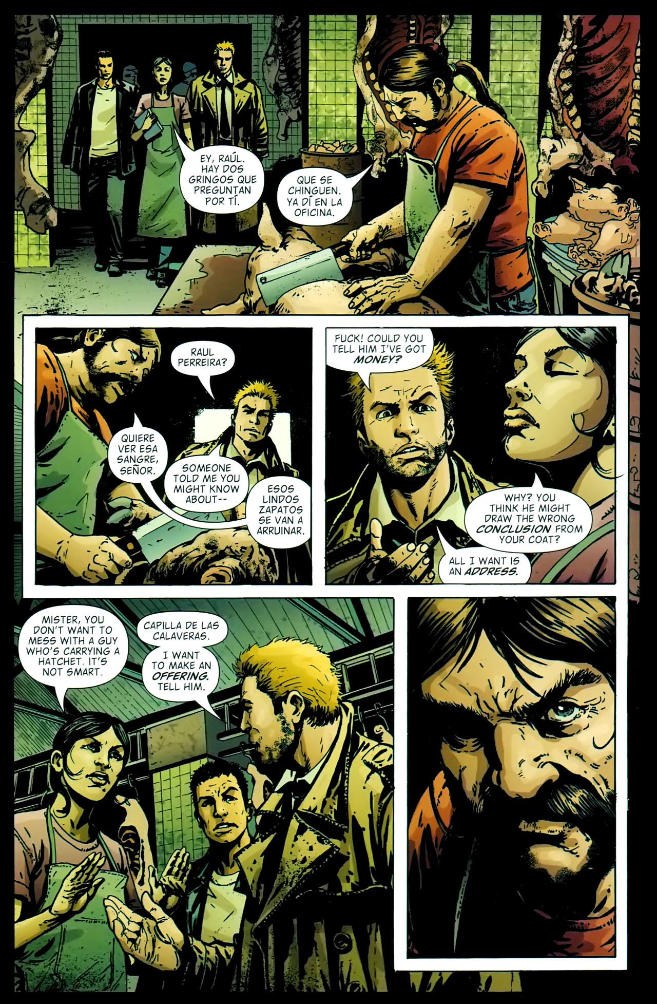 Read online John Constantine Hellblazer: All His Engines comic -  Issue # Full - 57