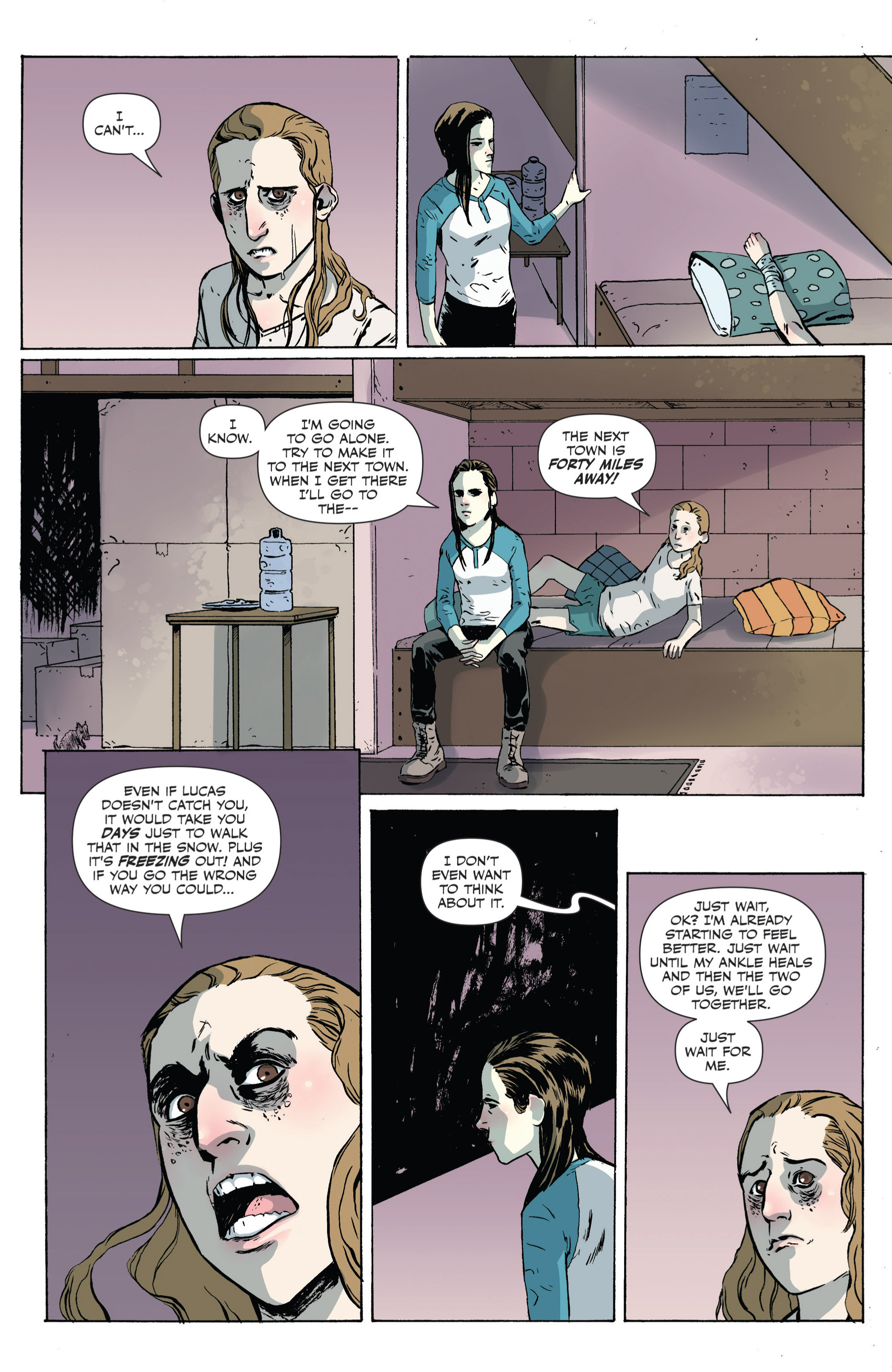 Read online Sheltered comic -  Issue #4 - 8