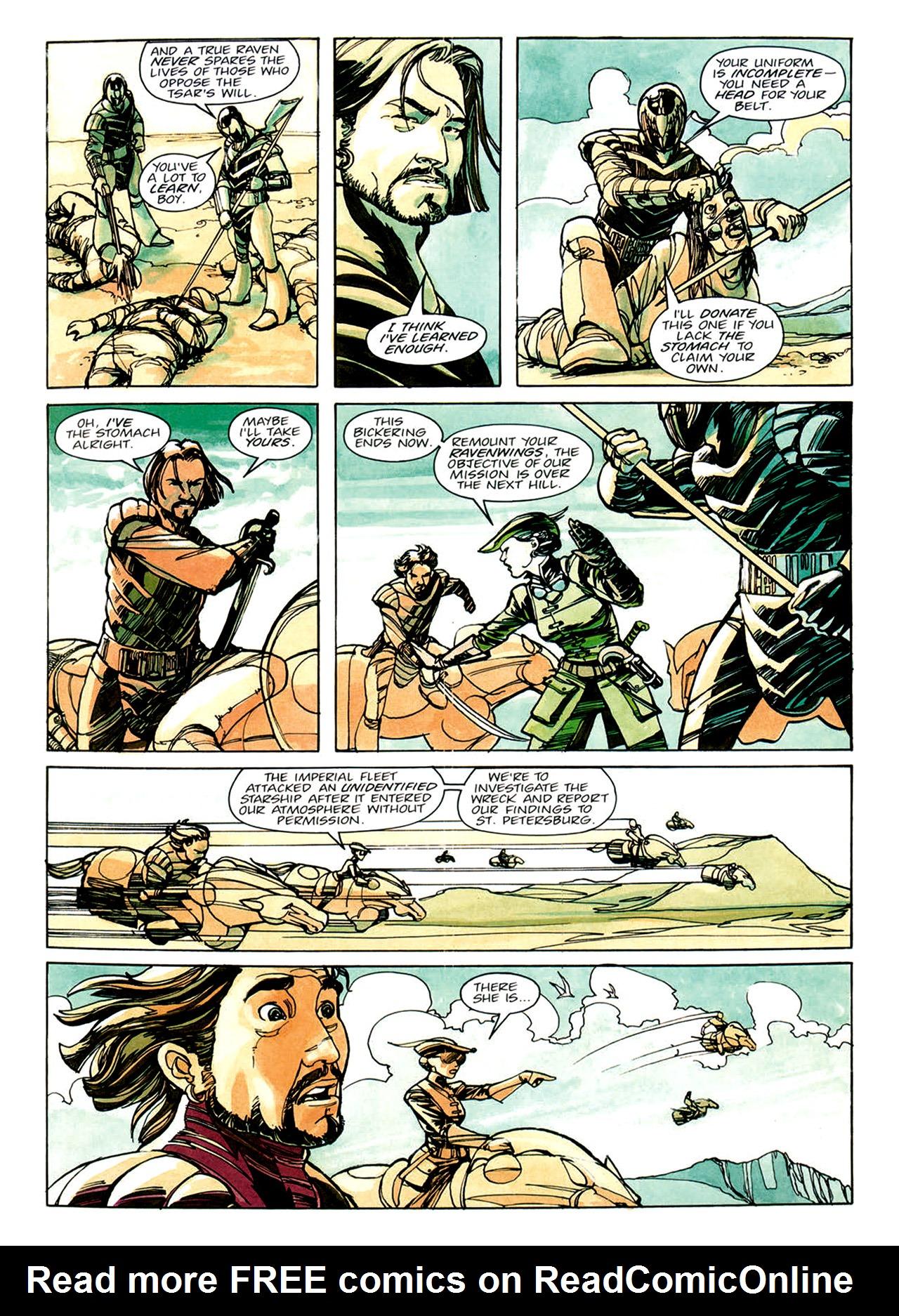 Read online Nikolai Dante comic -  Issue # TPB 1 - 20
