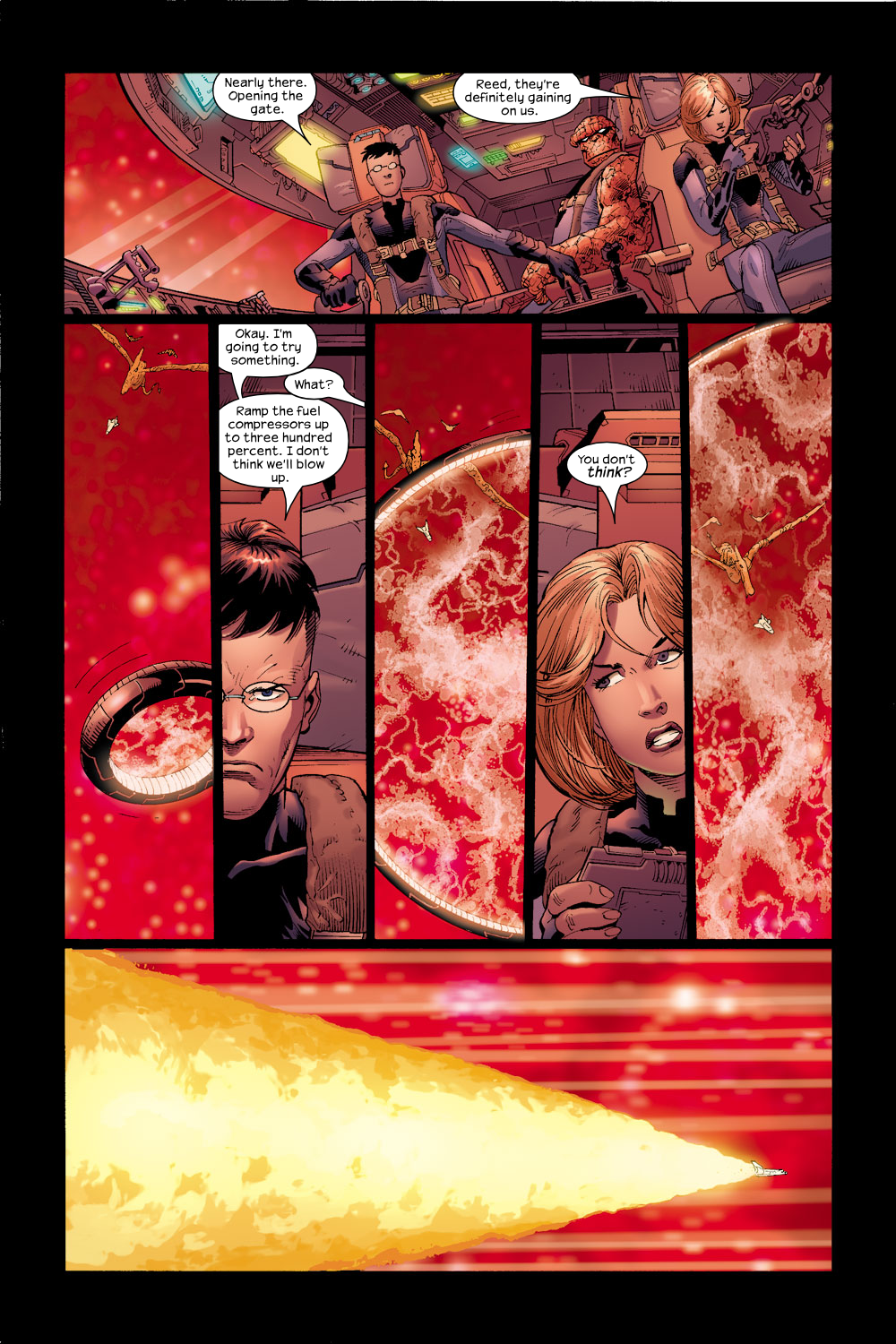 Read online Ultimate Fantastic Four (2004) comic -  Issue #17 - 20