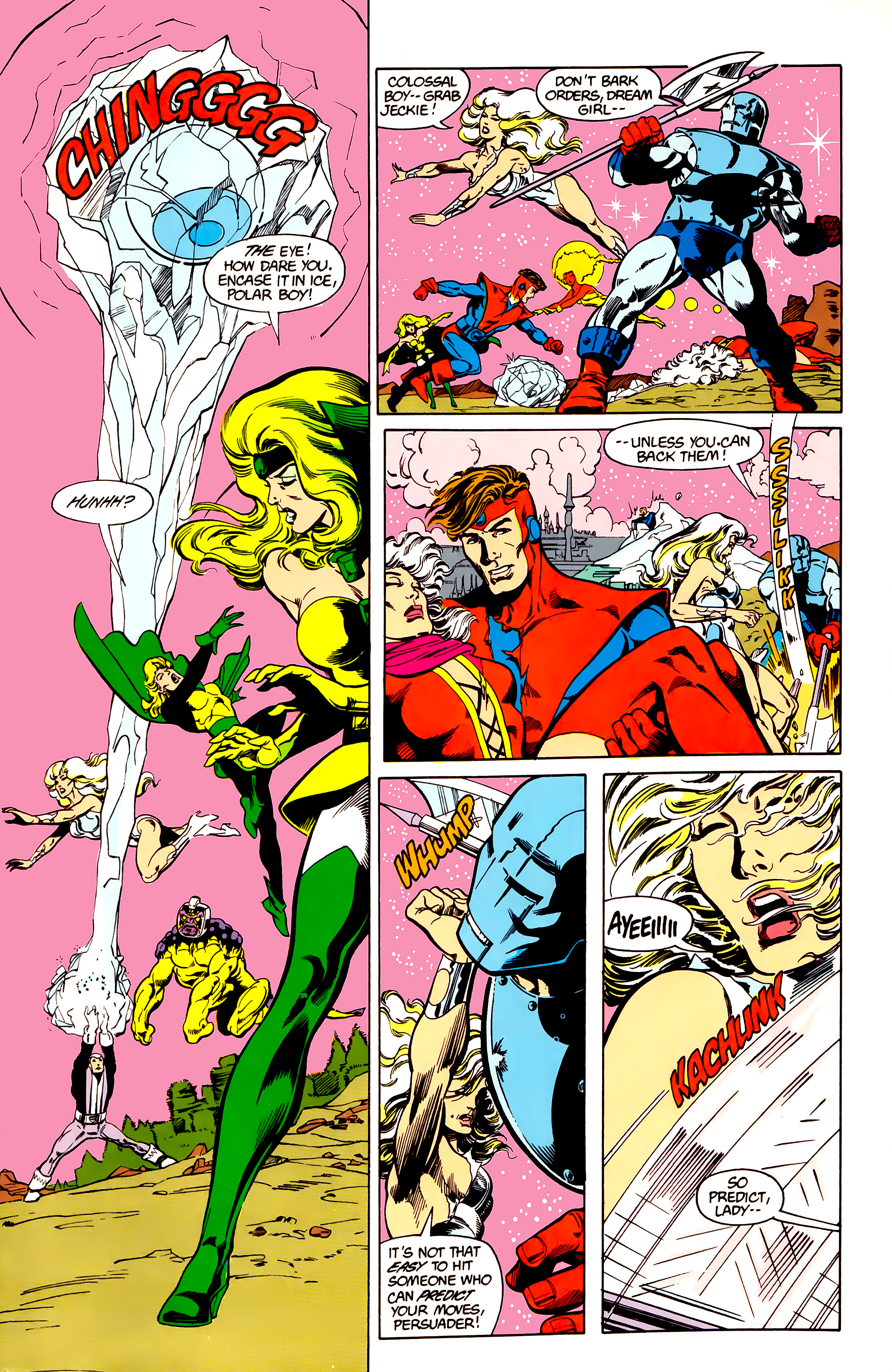 Legion of Super-Heroes (1984) 26 Page 4