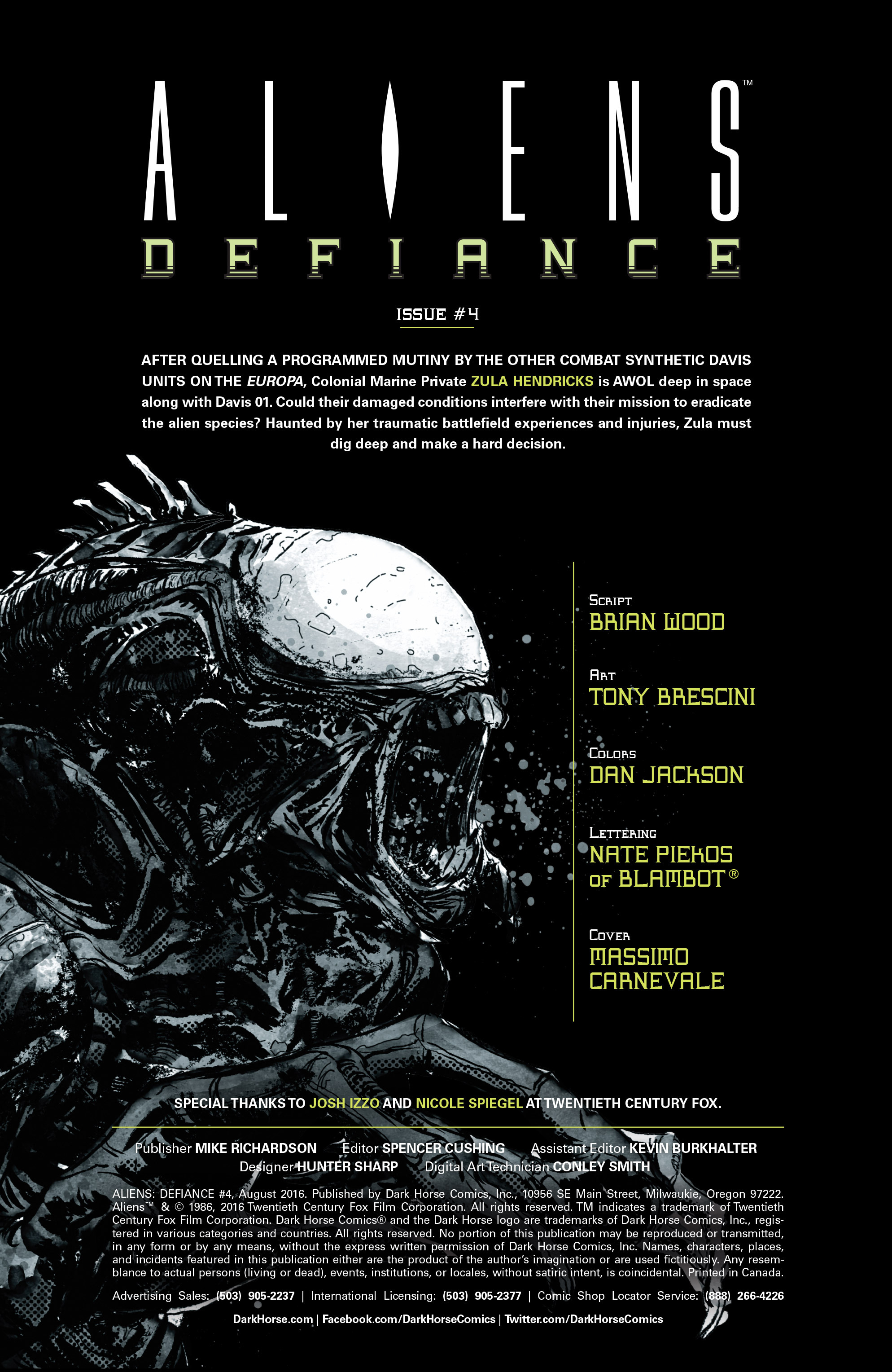 Read online Aliens: Defiance comic -  Issue #4 - 2
