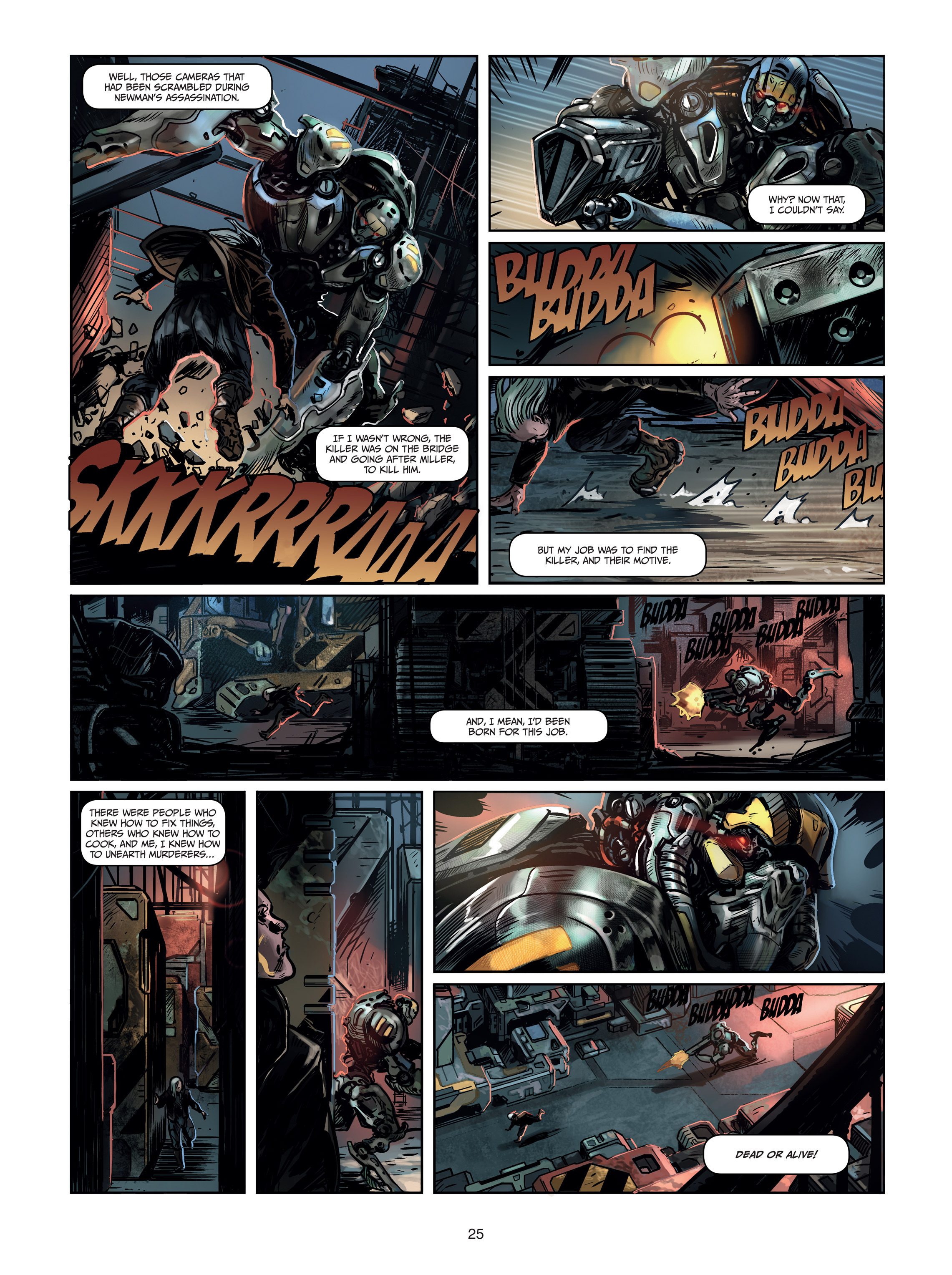 Read online Androïds comic -  Issue #1 - 23