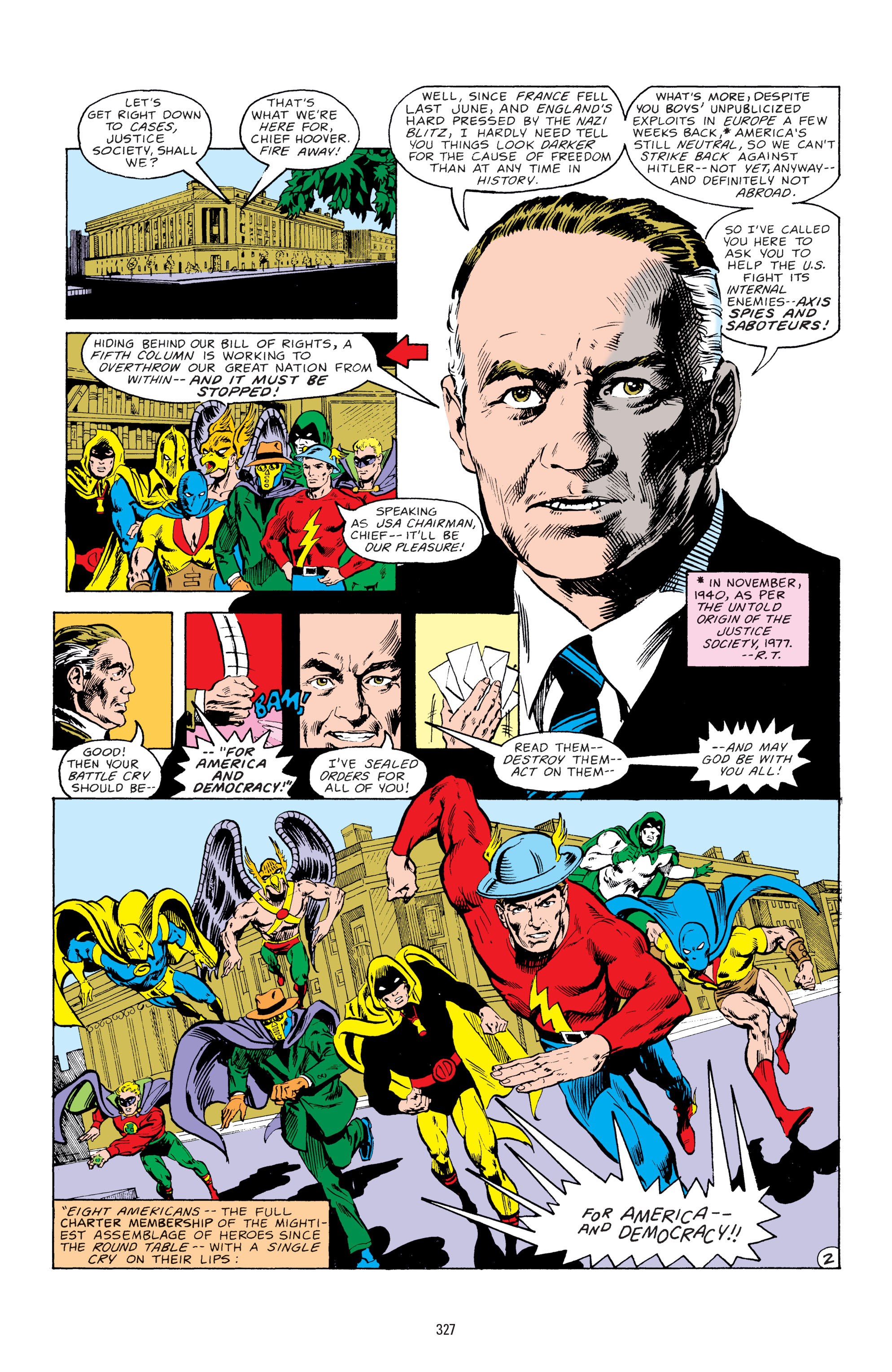 Read online All-Star Squadron comic -  Issue #67 - 3