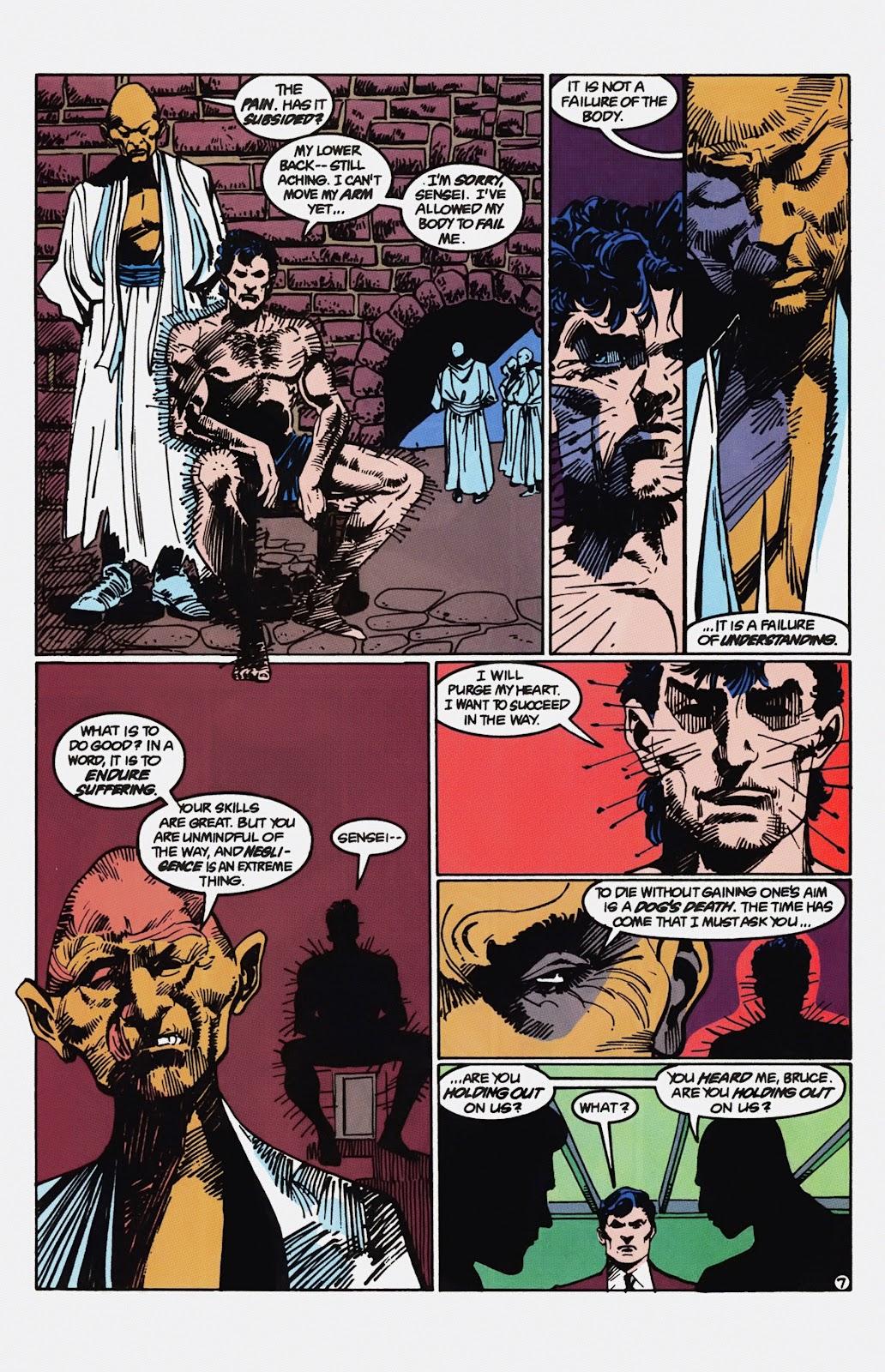 Read online Detective Comics (1937) comic -  Issue # _TPB Batman - Blind Justice (Part 1) - 72
