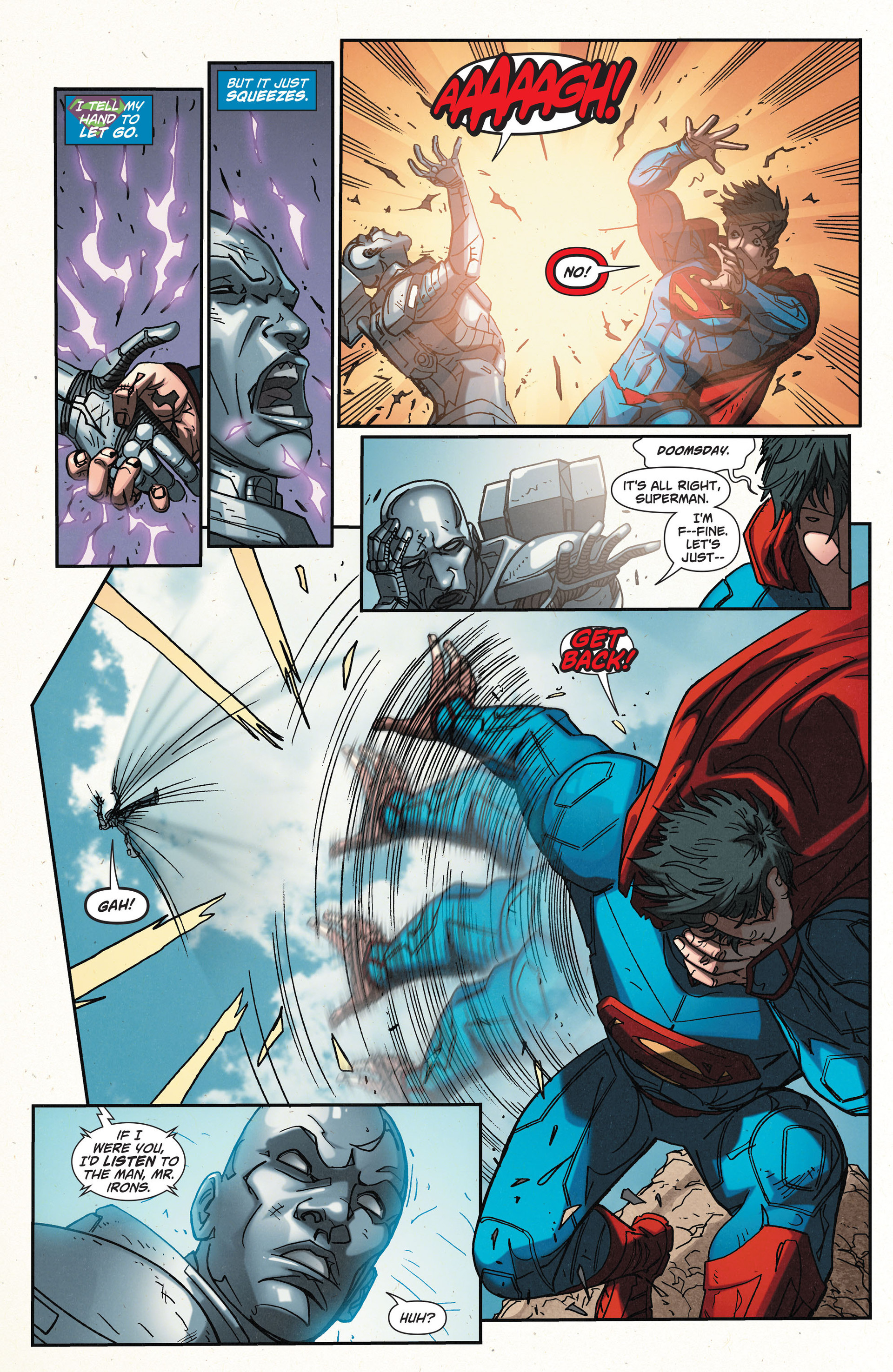 Read online Action Comics (2011) comic -  Issue #32 - 13