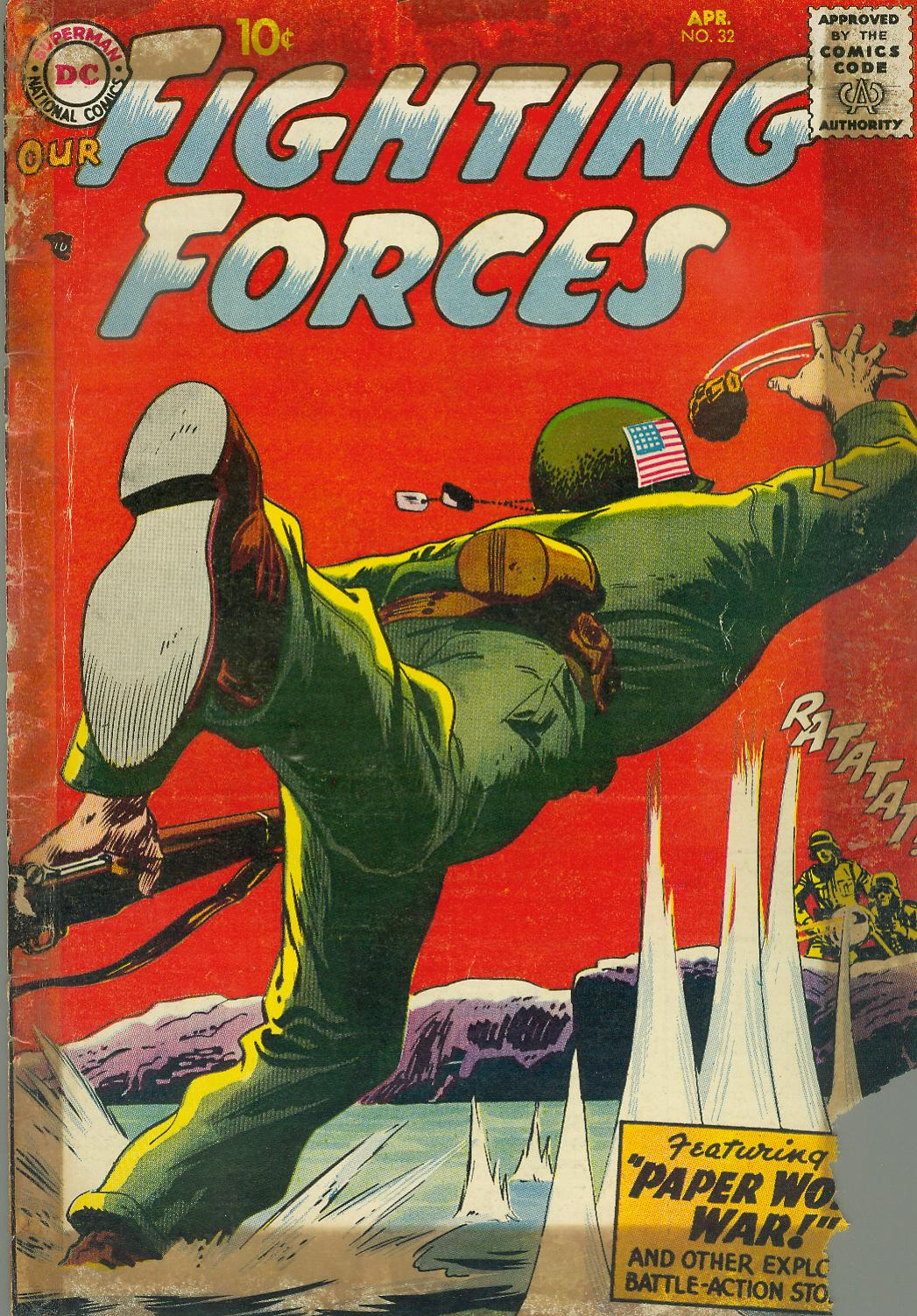 Our Fighting Forces (1954) issue 32 - Page 1