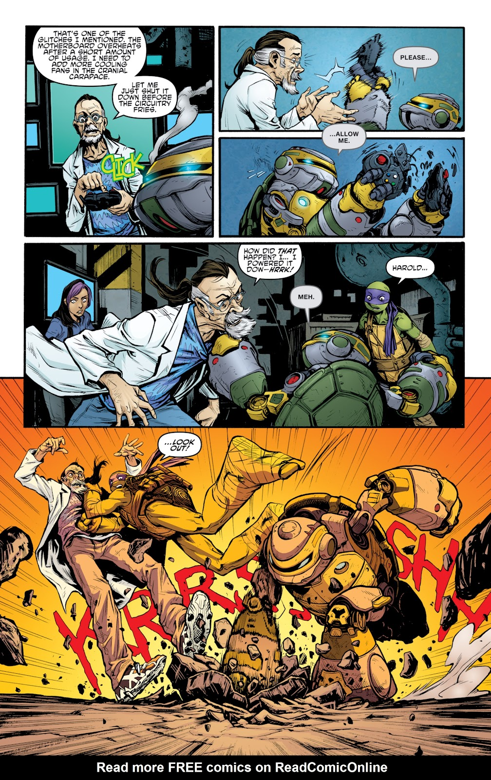 Read online Teenage Mutant Ninja Turtles: The IDW Collection comic -  Issue # TPB 4 (Part 3) - 46