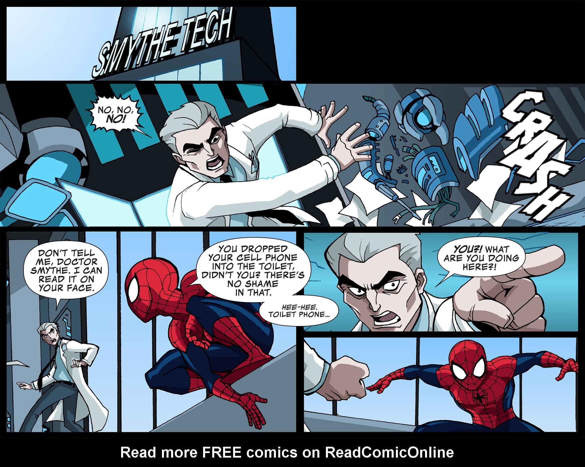 Read online Ultimate Spider-Man (Infinite Comics) (2015) comic -  Issue #4 - 29