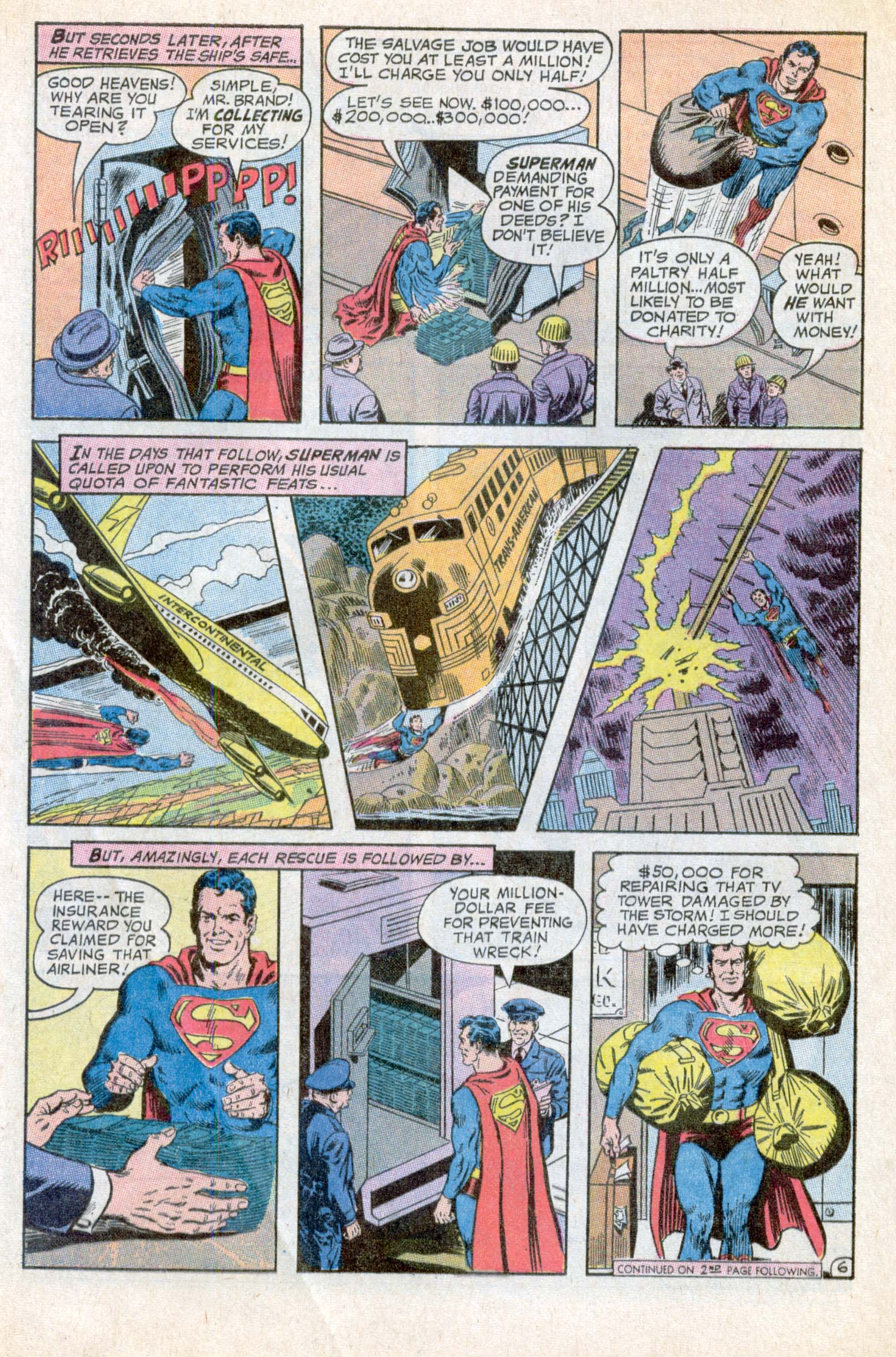 Read online Action Comics (1938) comic -  Issue #394 - 9
