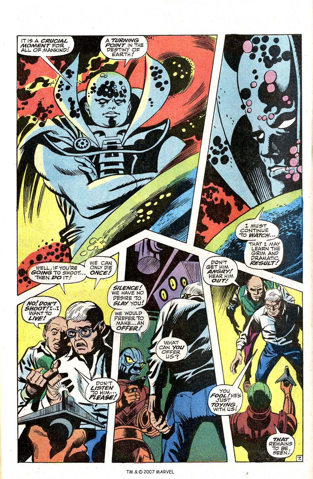 Read online Silver Surfer (1968) comic -  Issue #2 - 62