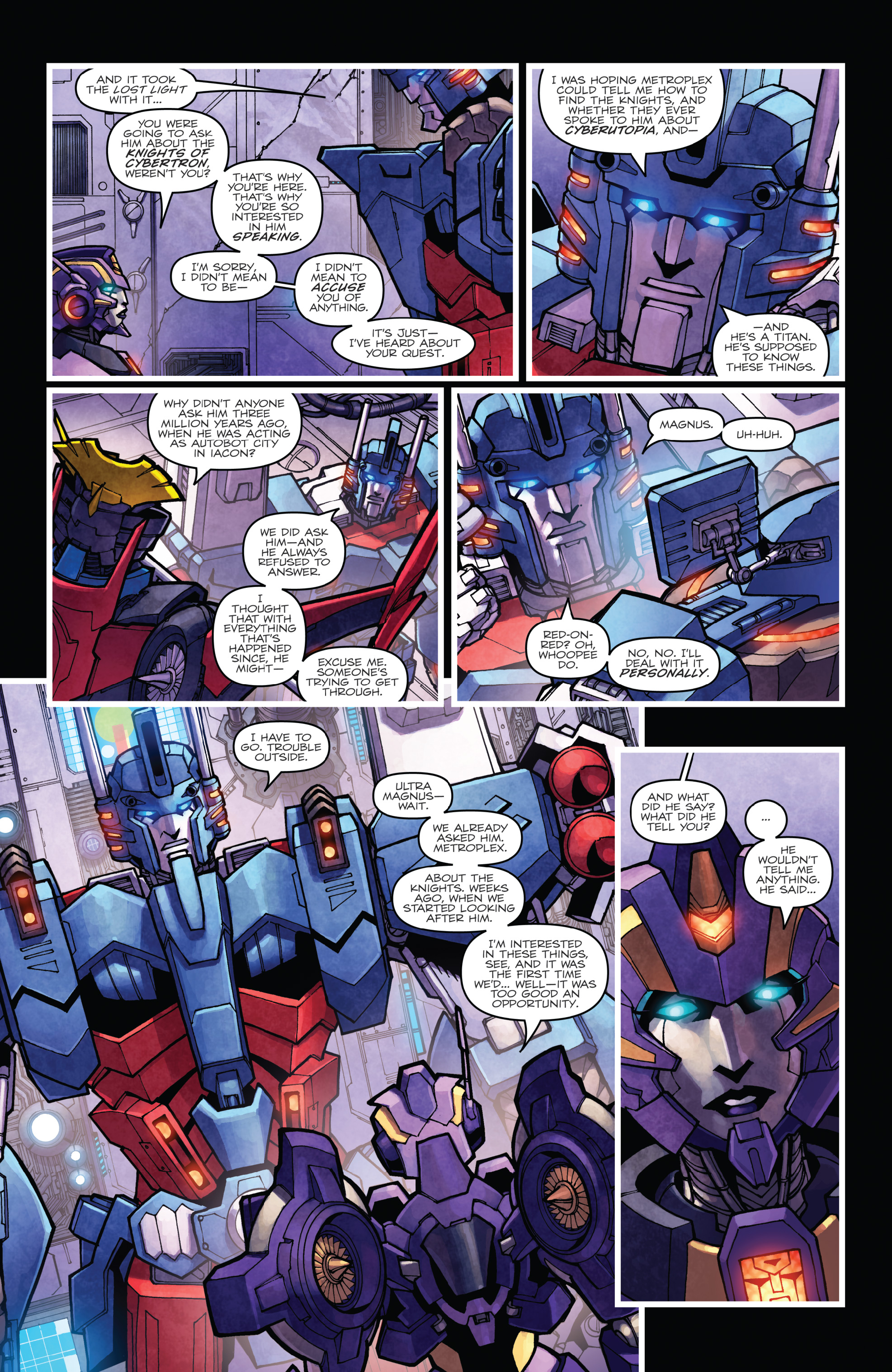 Read online The Transformers: Dark Cybertron Finale comic -  Issue # Full - 93