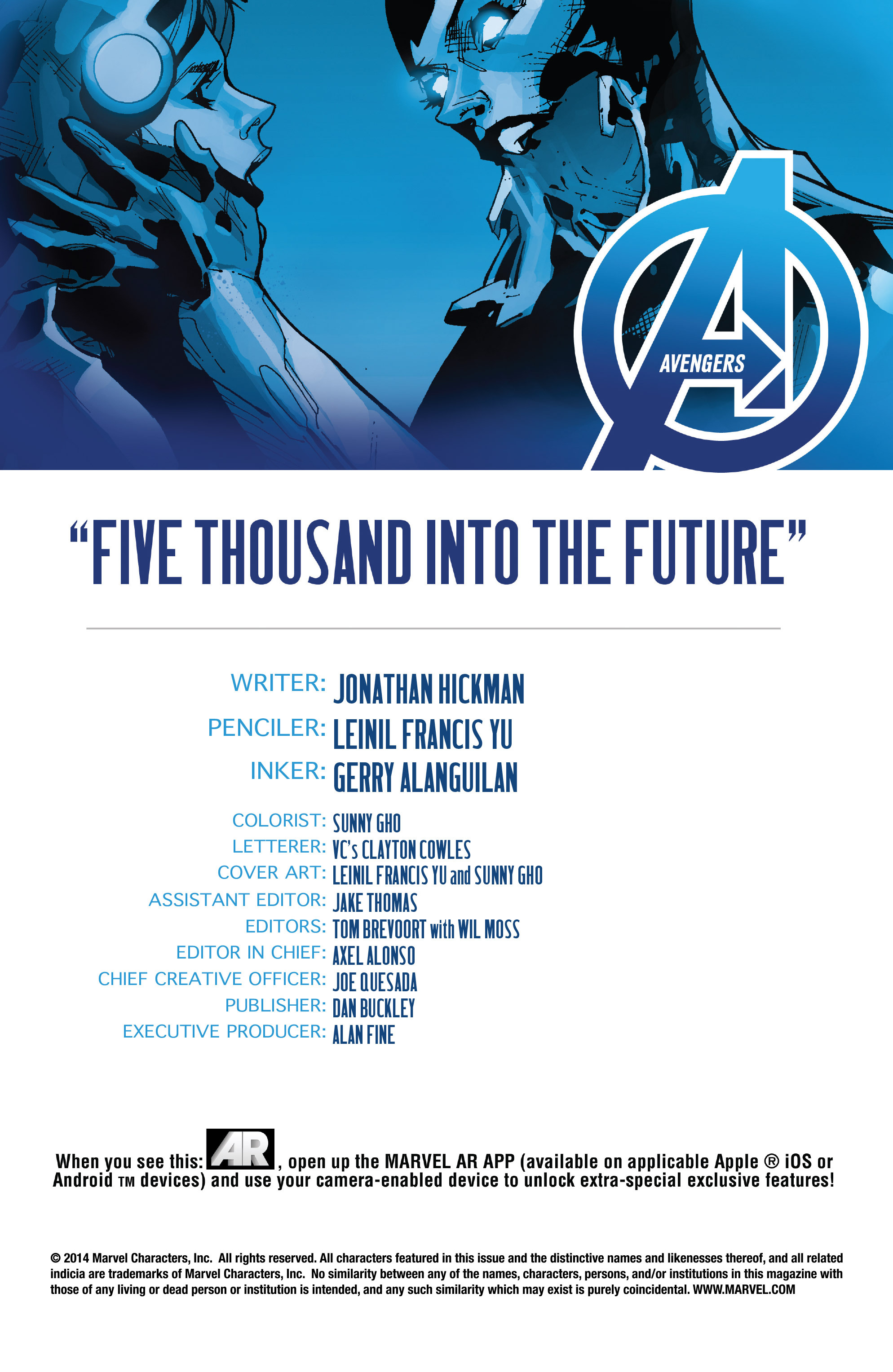Read online Avengers (2013) comic -  Issue #32 - 4