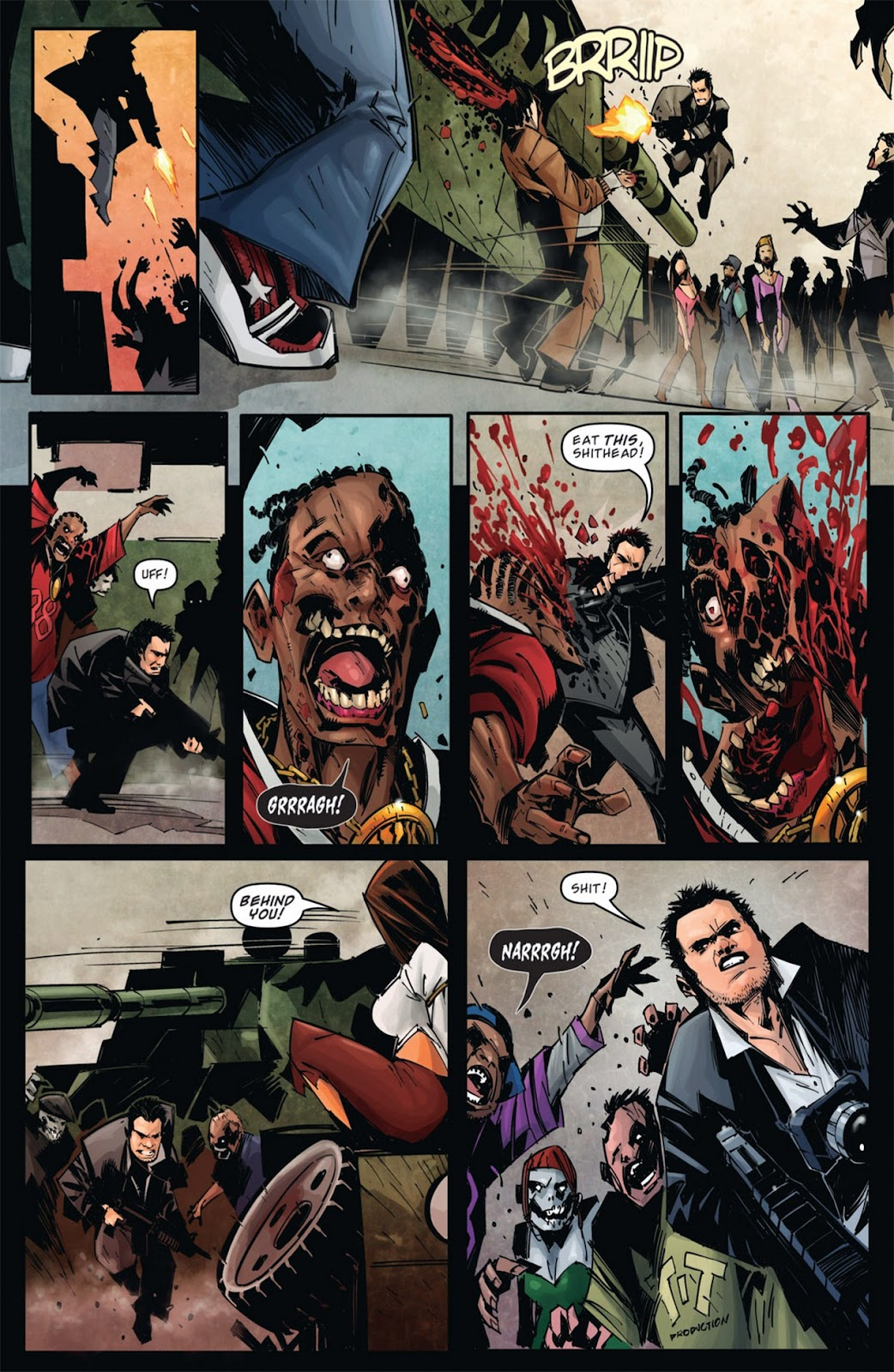 Read online Dead Rising: Road to Fortune comic -  Issue #1 - 9