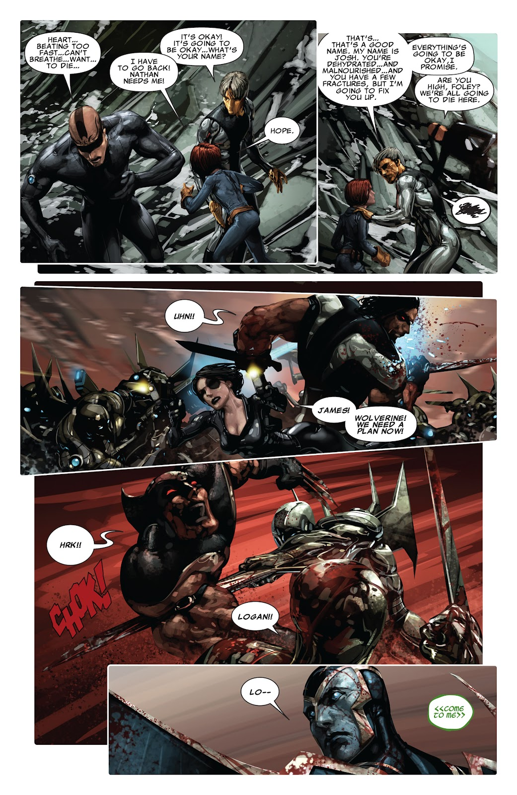 Read online X-Force/Cable: Messiah War comic -  Issue # _TPB (Part 2) - 23