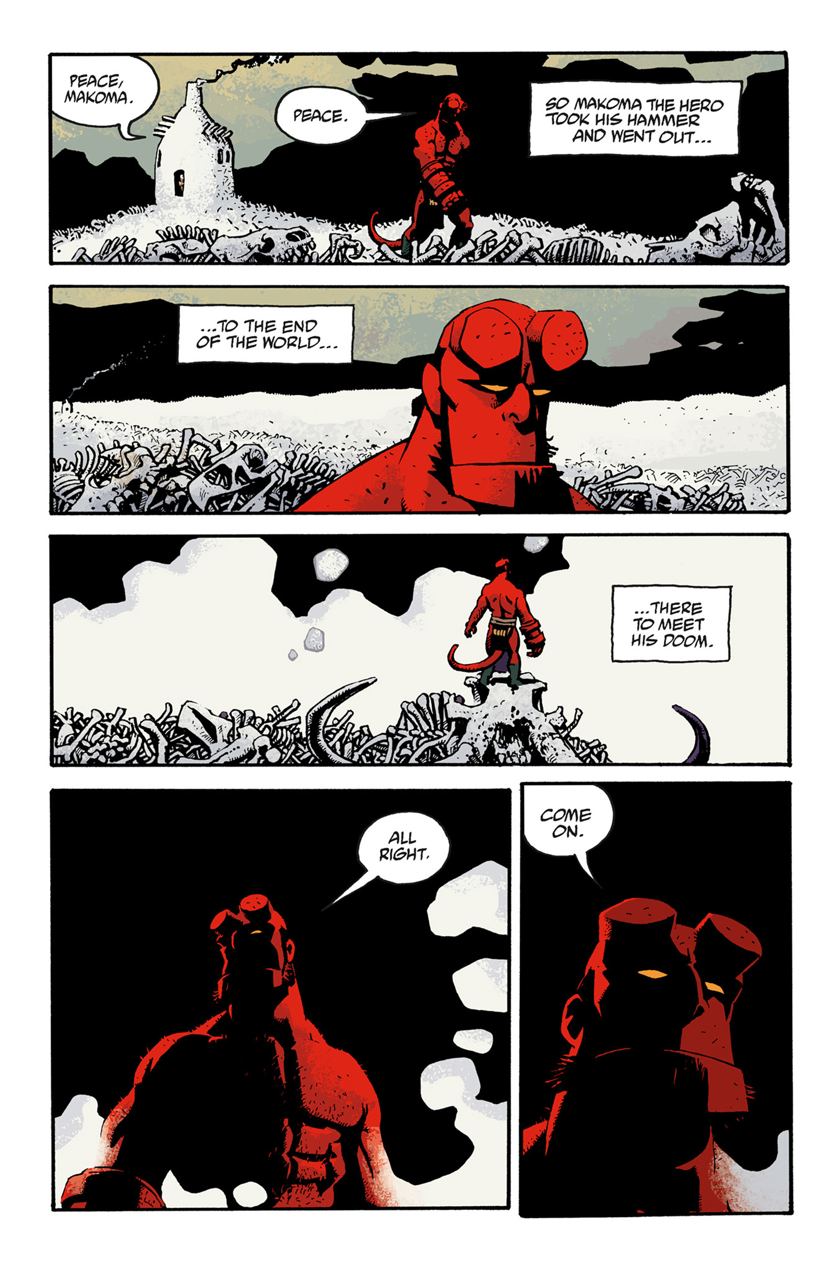 Read online Hellboy: The Troll Witch and Others comic -  Issue # TPB - 122
