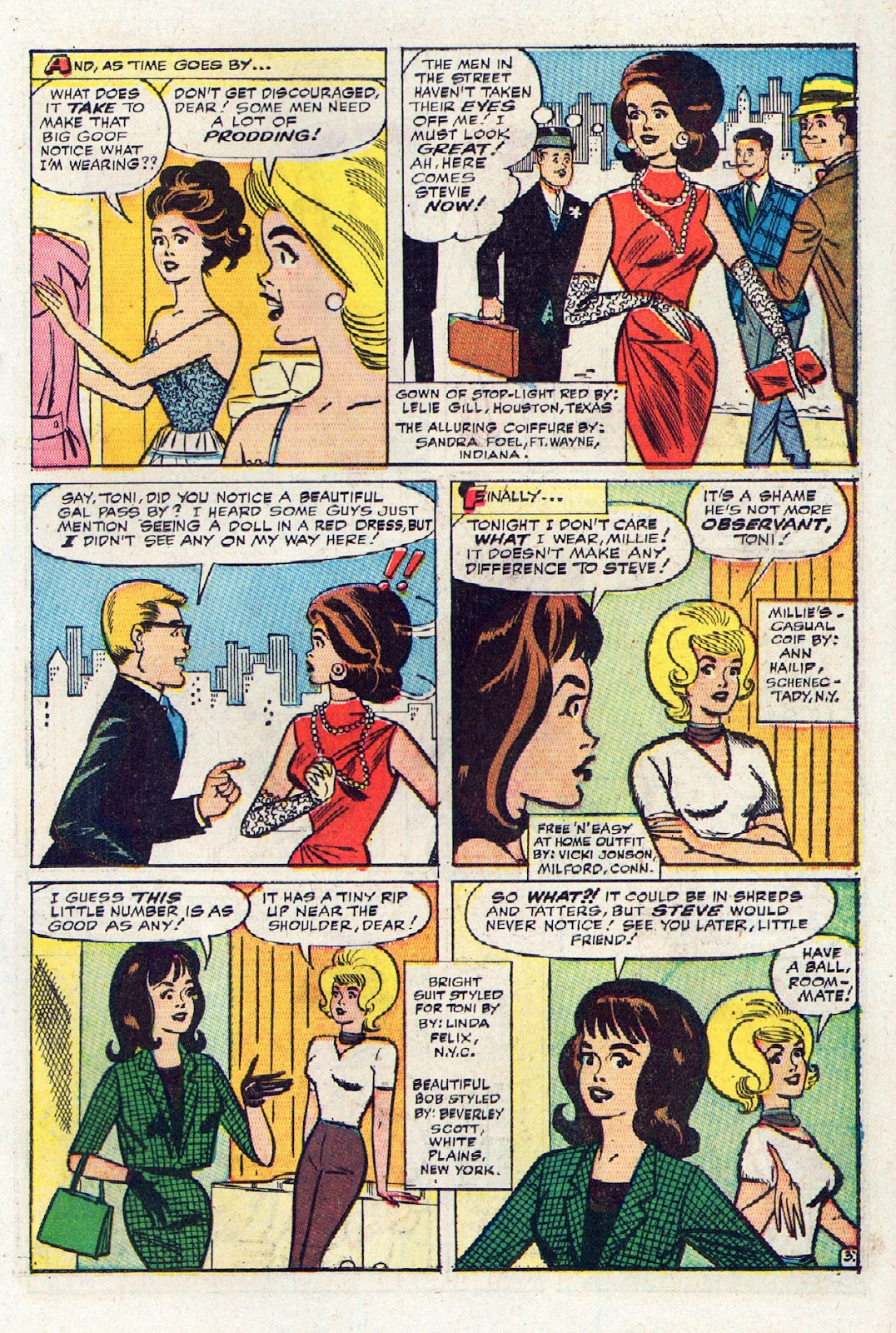 Read online Millie the Model comic -  Issue # Annual 2 - 21