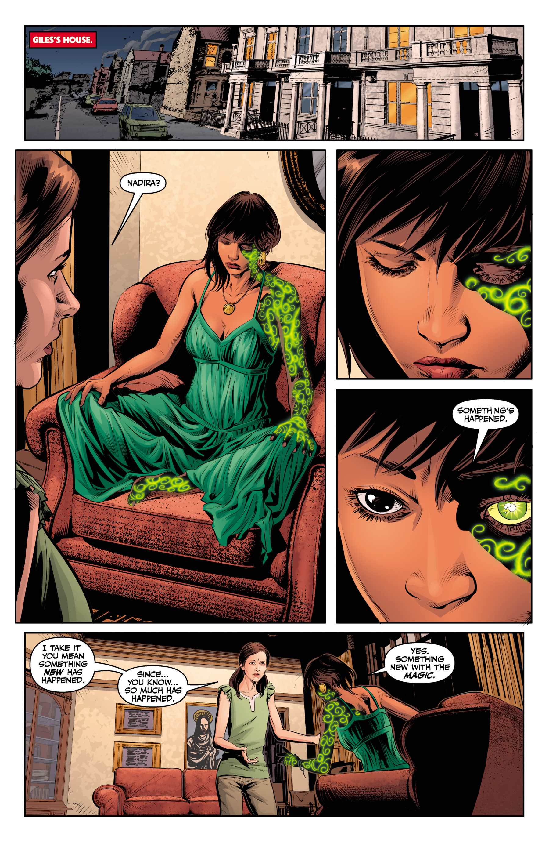 Read online Angel & Faith Season 10 comic -  Issue #23 - 5