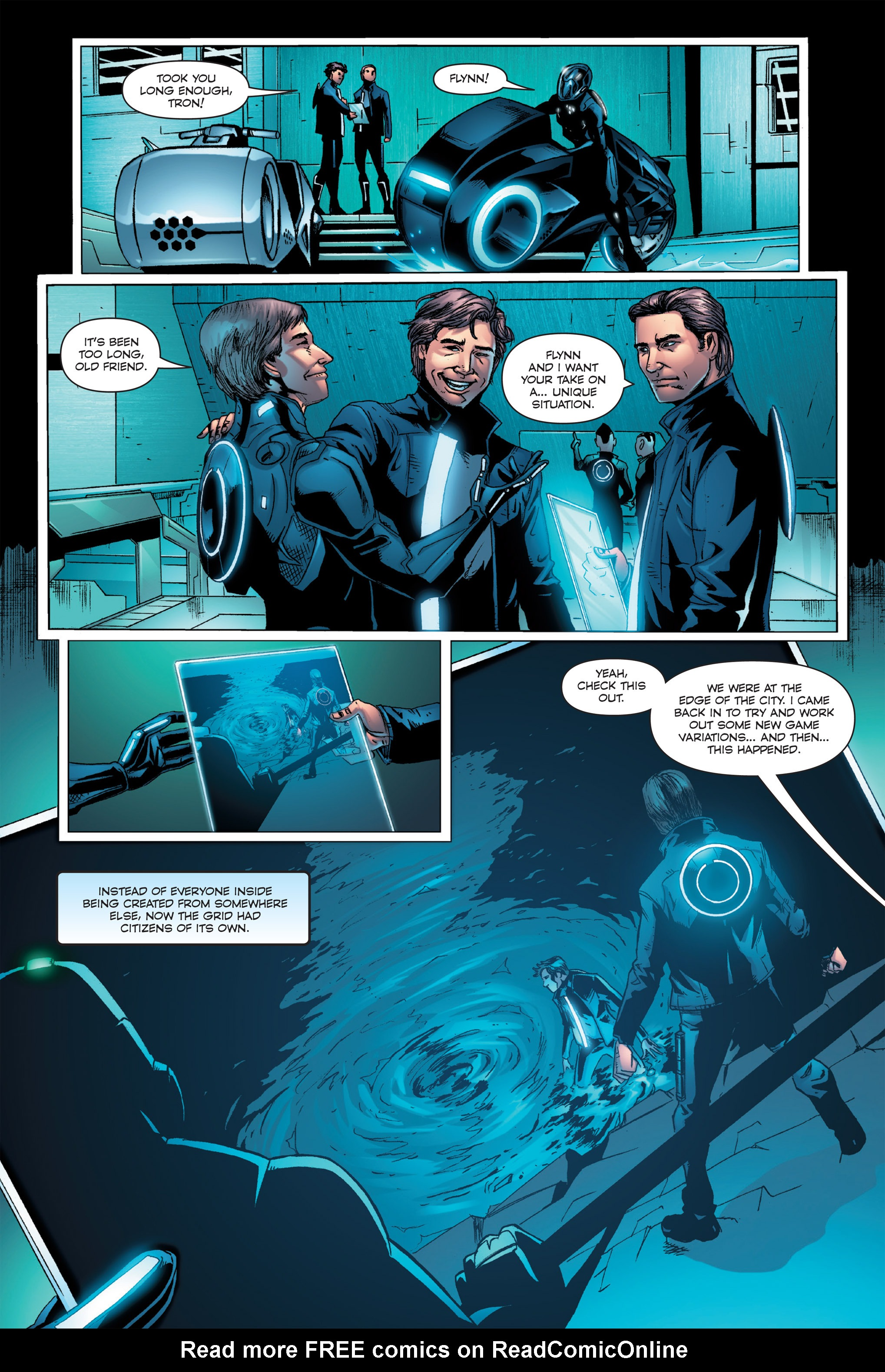 Read online TRON: Betrayal comic -  Issue # TPB - 33