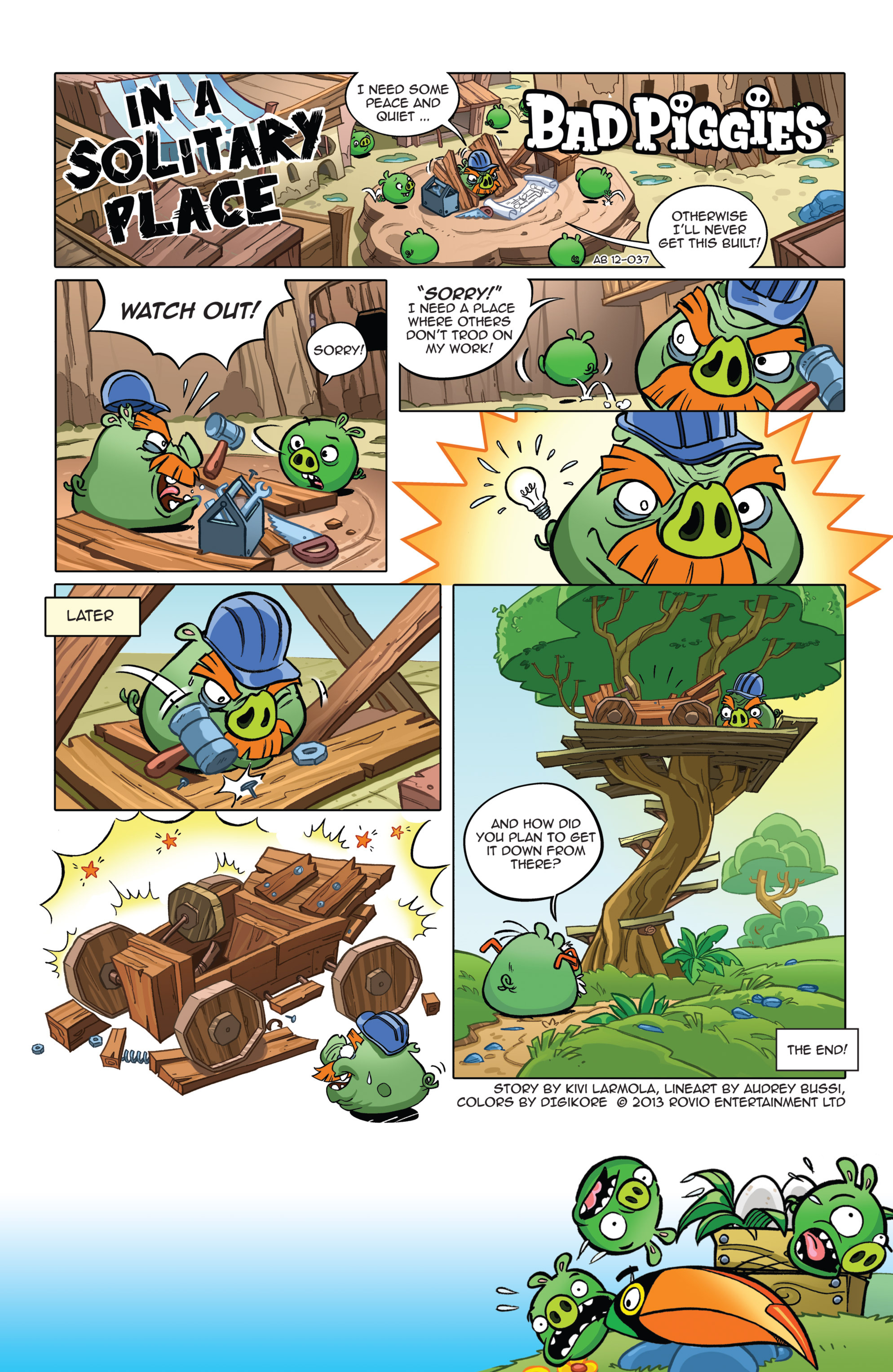 Read online Angry Birds Comics (2014) comic -  Issue #7 - 21