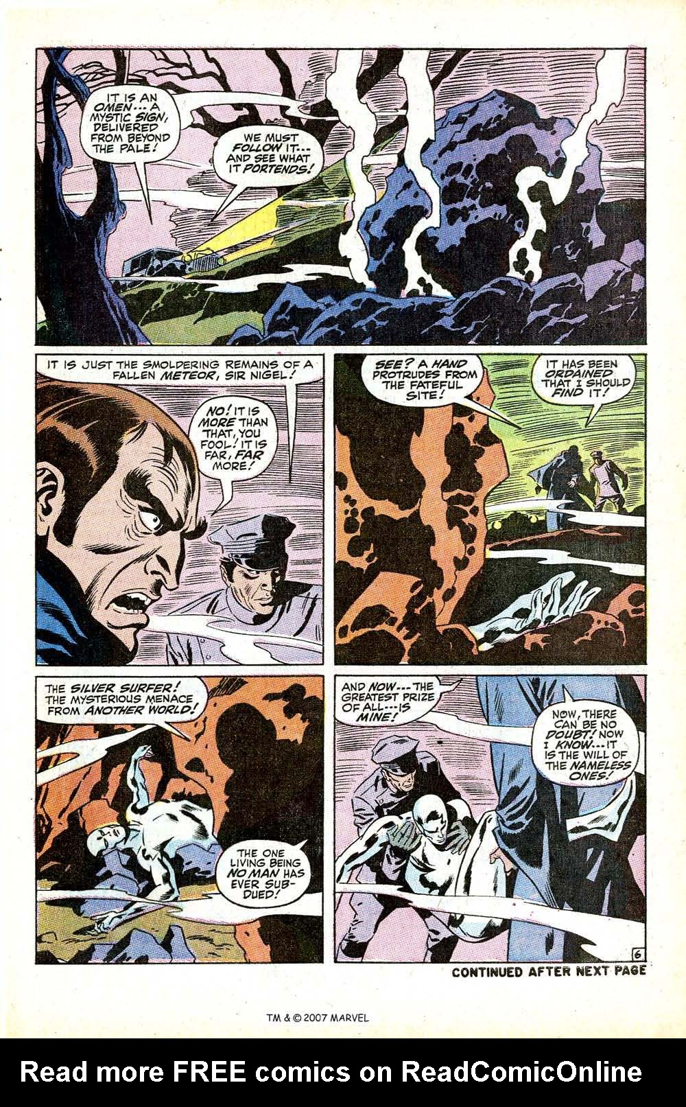 Read online Silver Surfer (1968) comic -  Issue #12 - 9