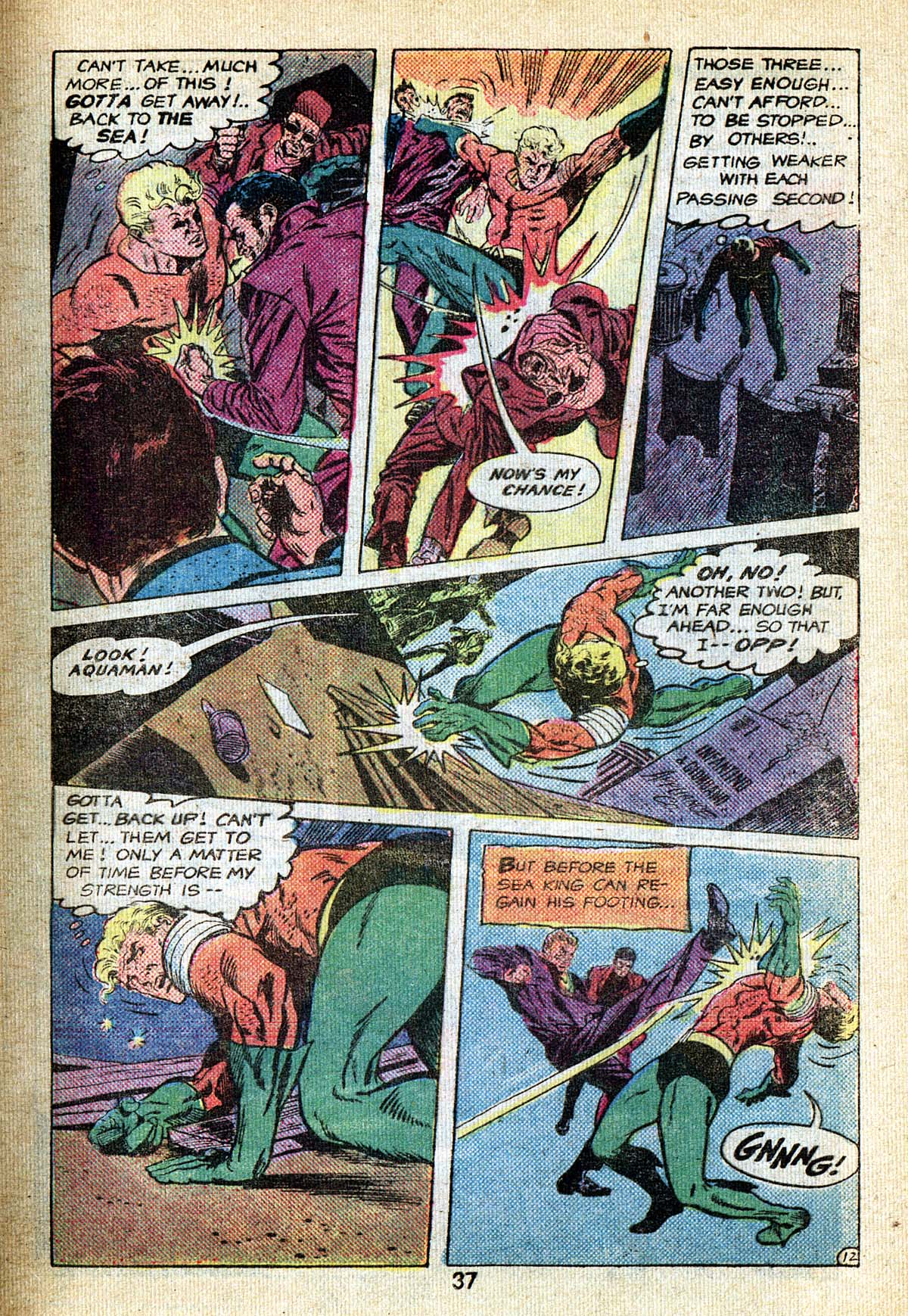 Read online Adventure Comics (1938) comic -  Issue #495 - 37