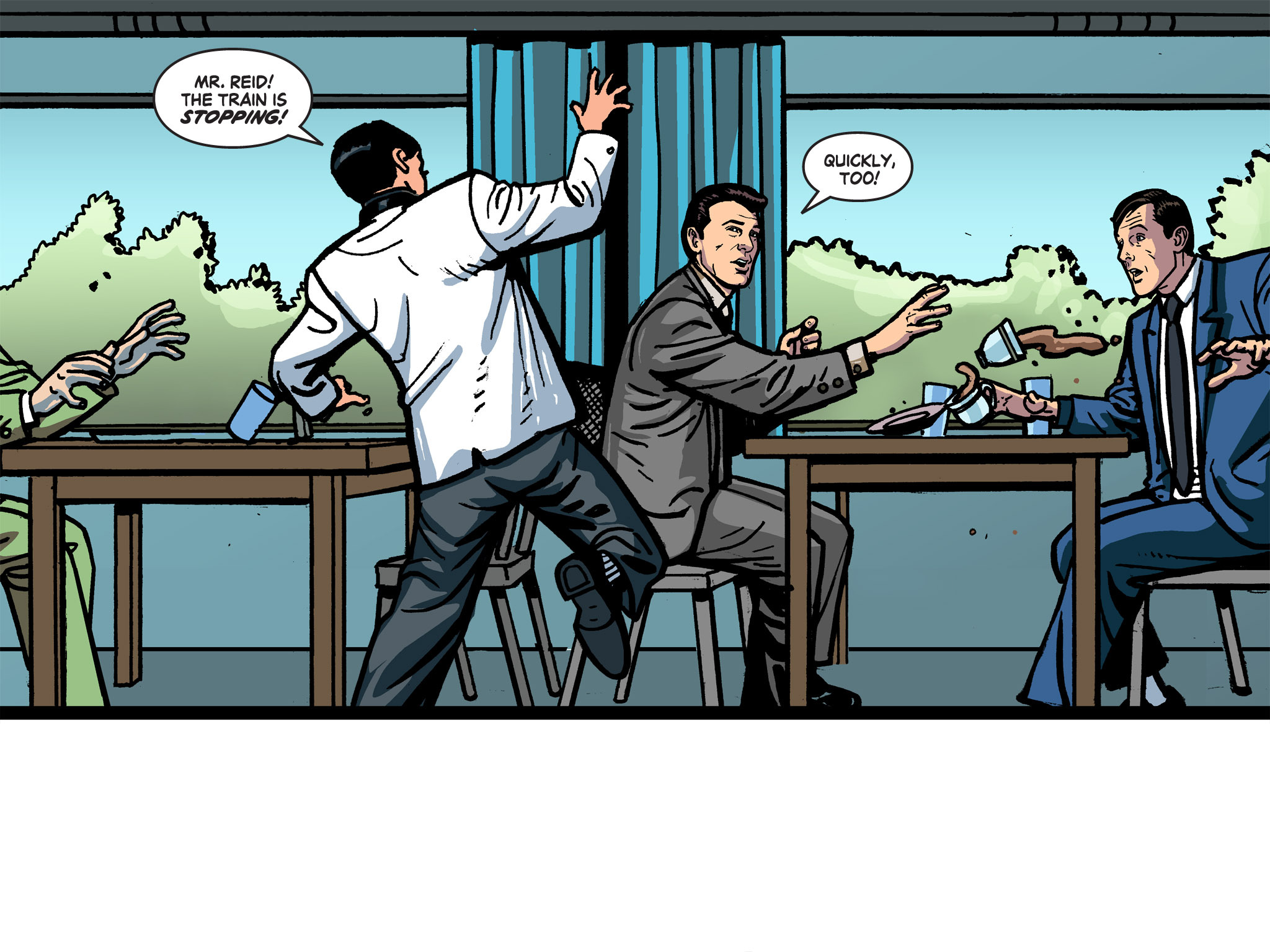 Read online Batman '66 Meets the Green Hornet [II] comic -  Issue #1 - 64