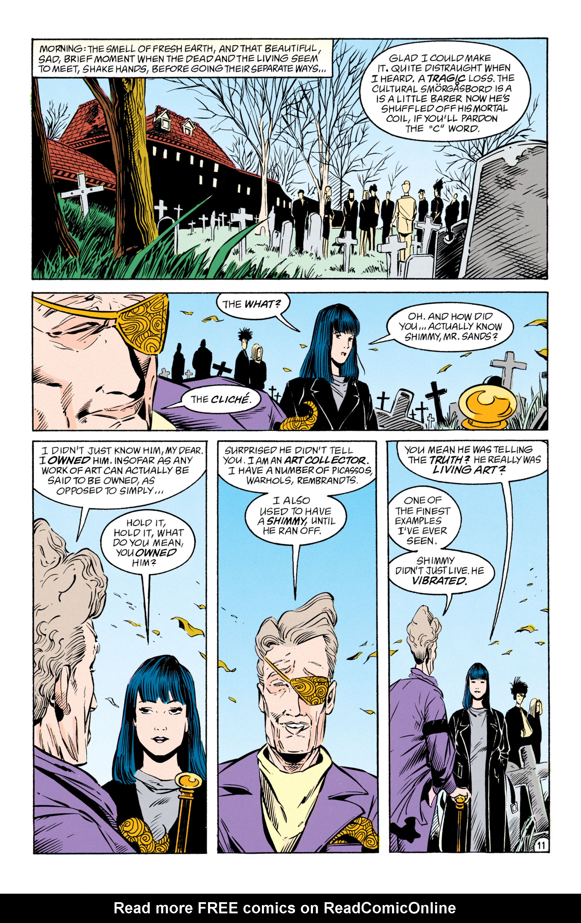 Read online Shade, the Changing Man comic -  Issue #50 - 12