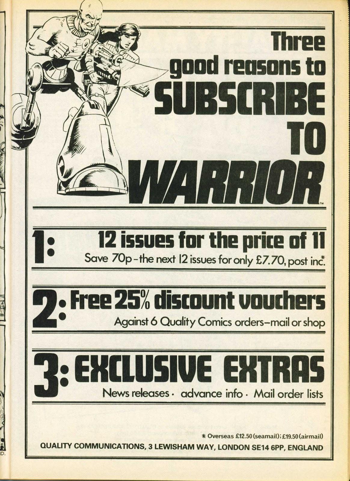 Warrior Issue #19 #20 - English 11