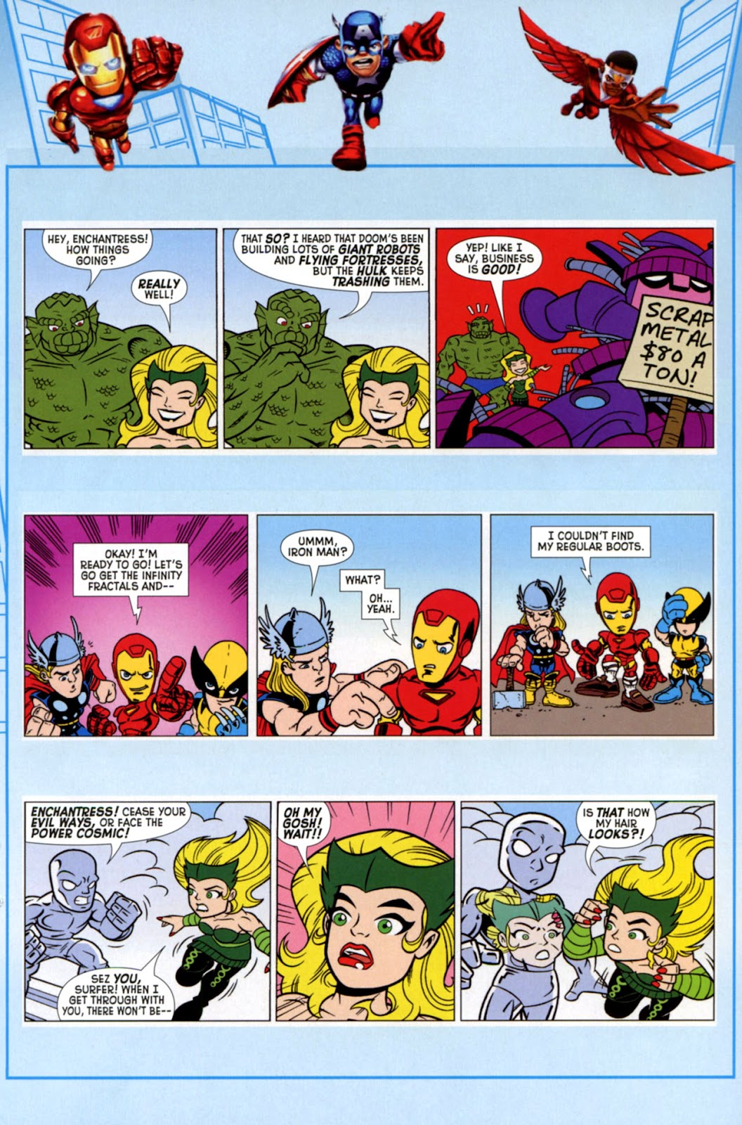 Read online Marvel Super Hero Squad: Hero Up! comic -  Issue # Full - 27