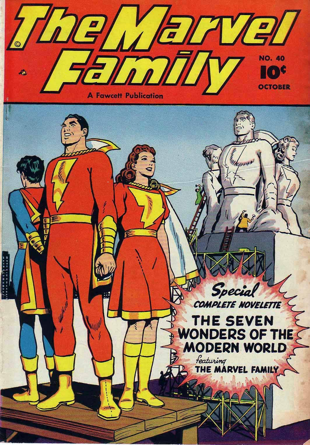 The Marvel Family 40 Page 1