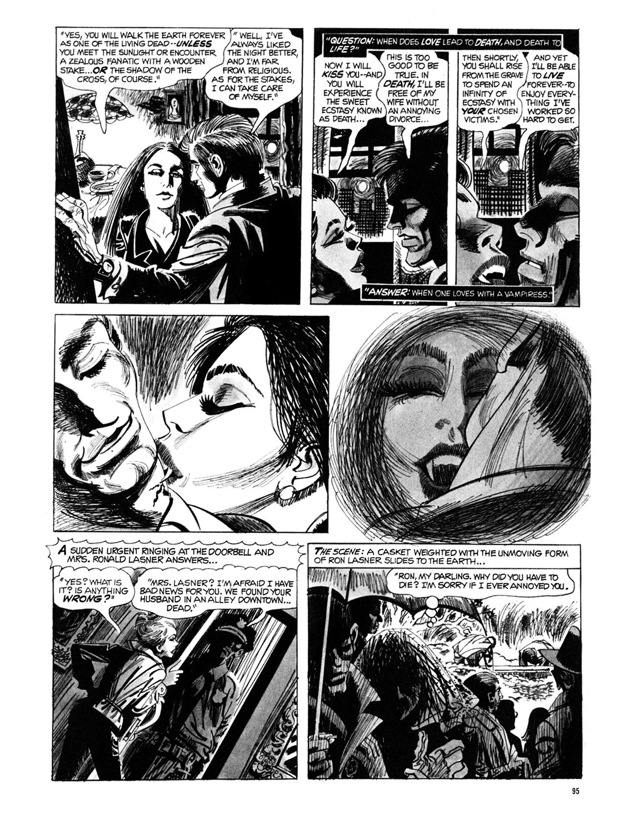 Read online Eerie Archives comic -  Issue # TPB 9 - 96