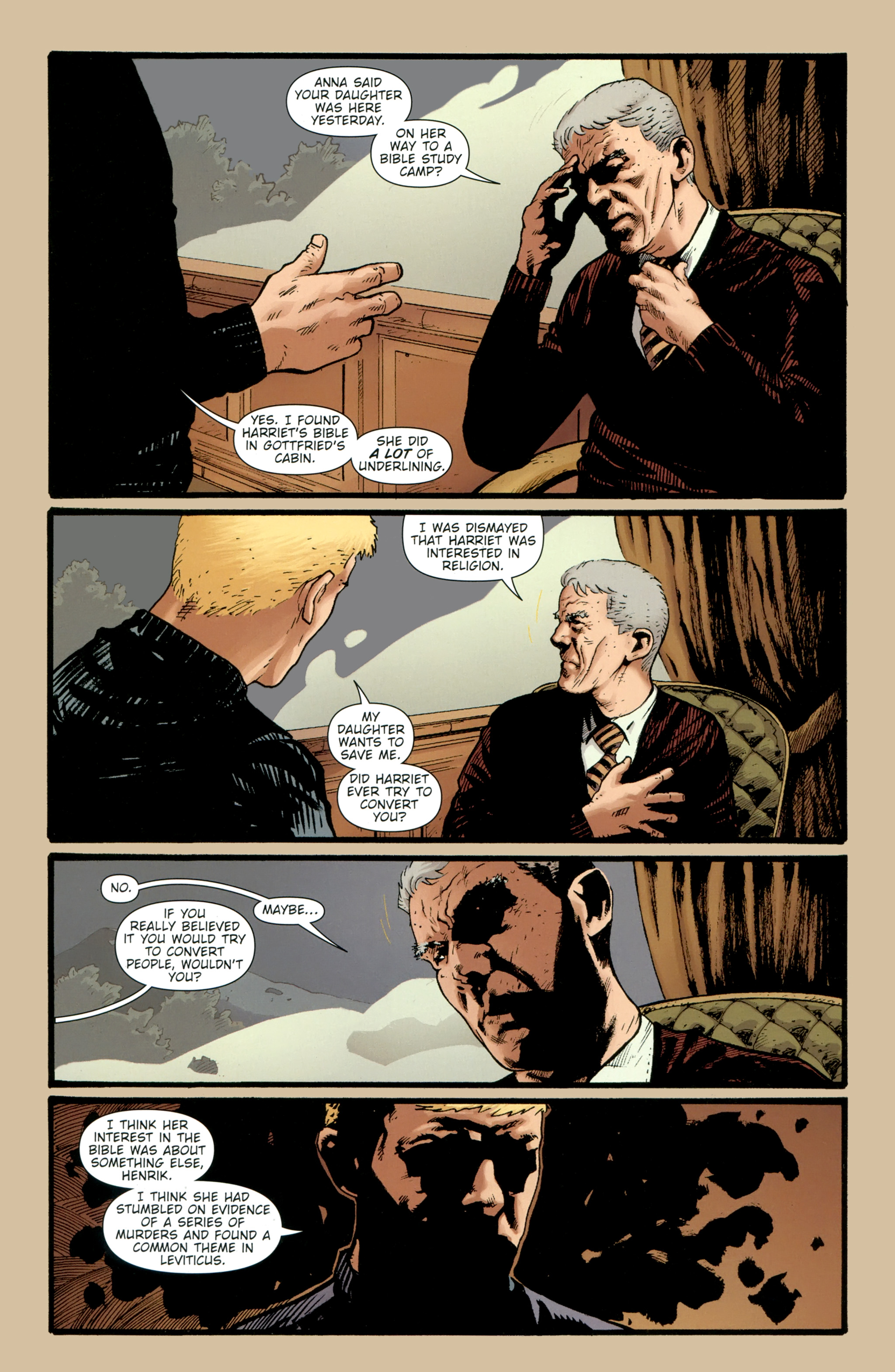 Read online The Girl With the Dragon Tattoo comic -  Issue # TPB 2 - 38