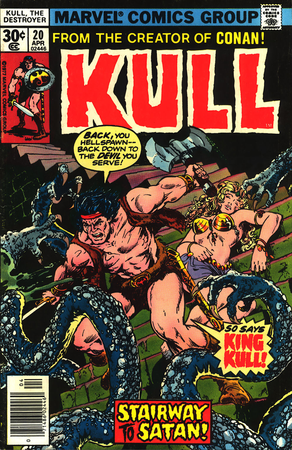 Kull The Destroyer issue 20 - Page 1