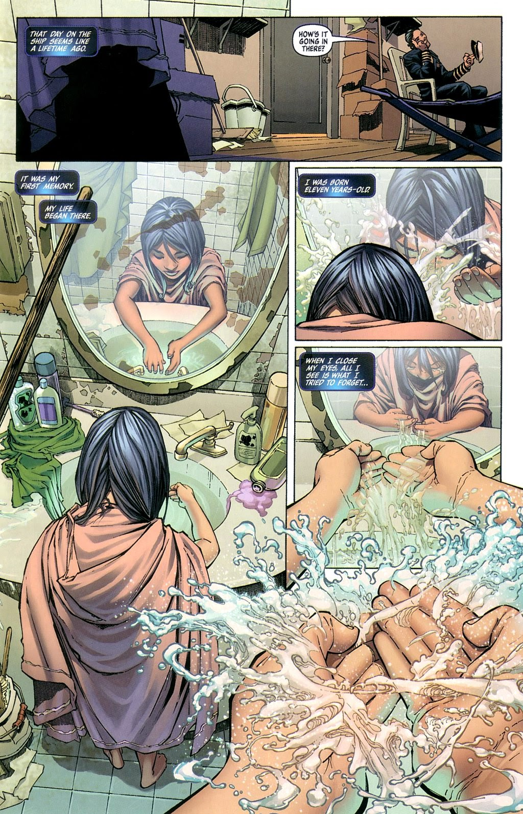 Read online Fathom Beginnings comic -  Issue # Full - 6