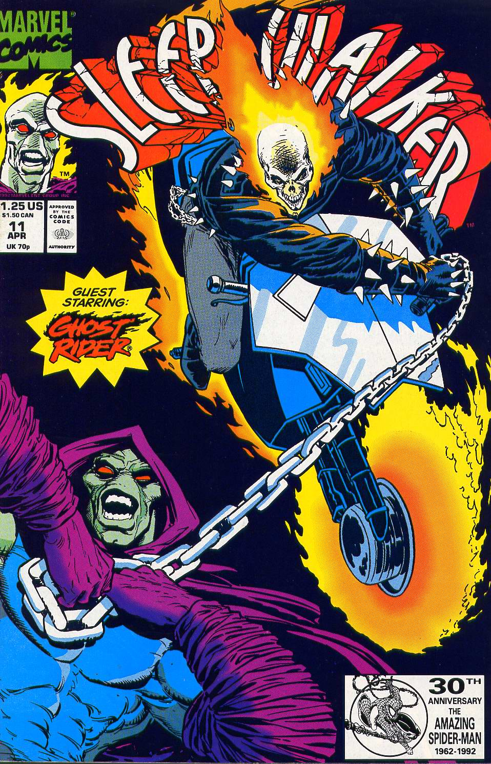Read online Sleepwalker comic -  Issue #11 - 1