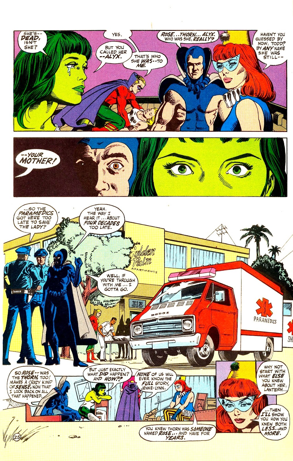 Infinity Inc. (1984) issue Annual 1 - Page 29