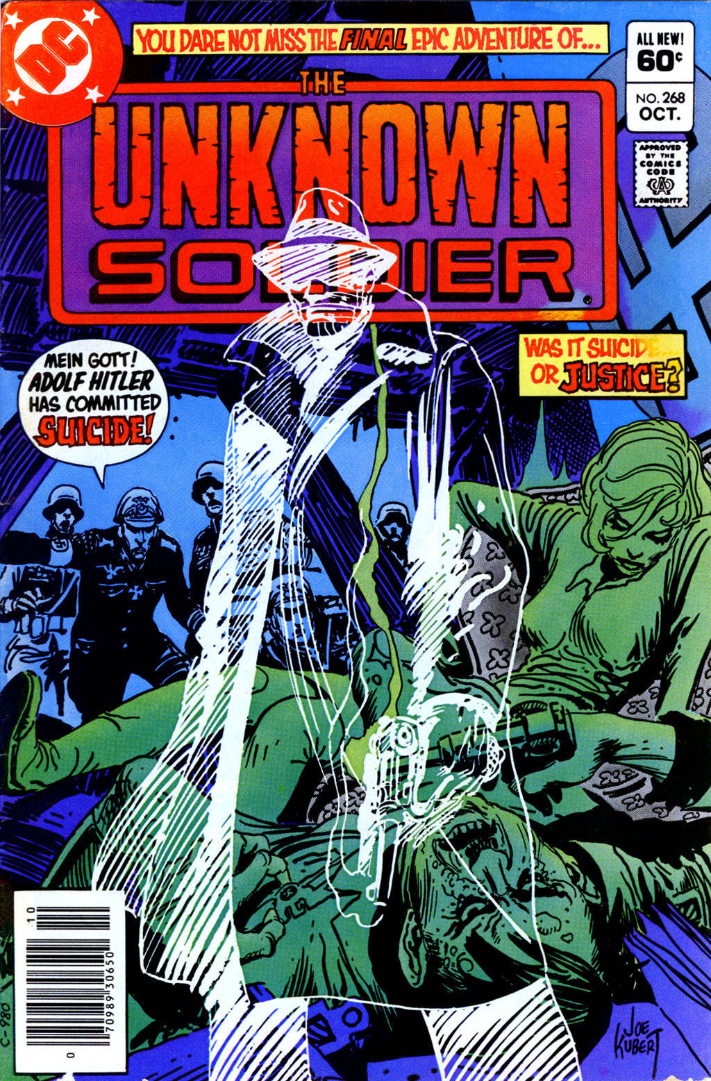 Unknown Soldier (1977) issue 268 - Page 1