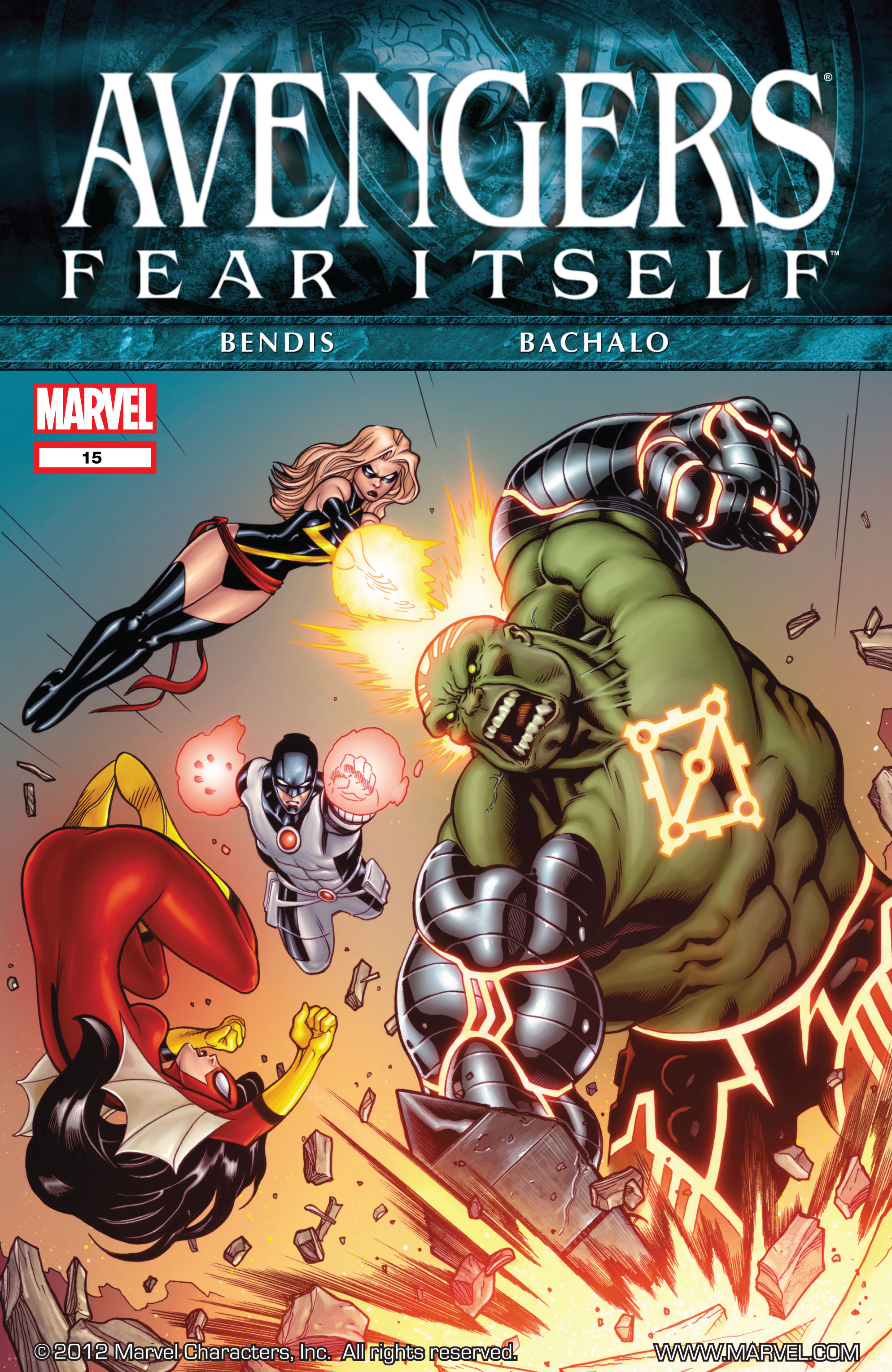 Read online Avengers (2010) comic -  Issue #15 - 1