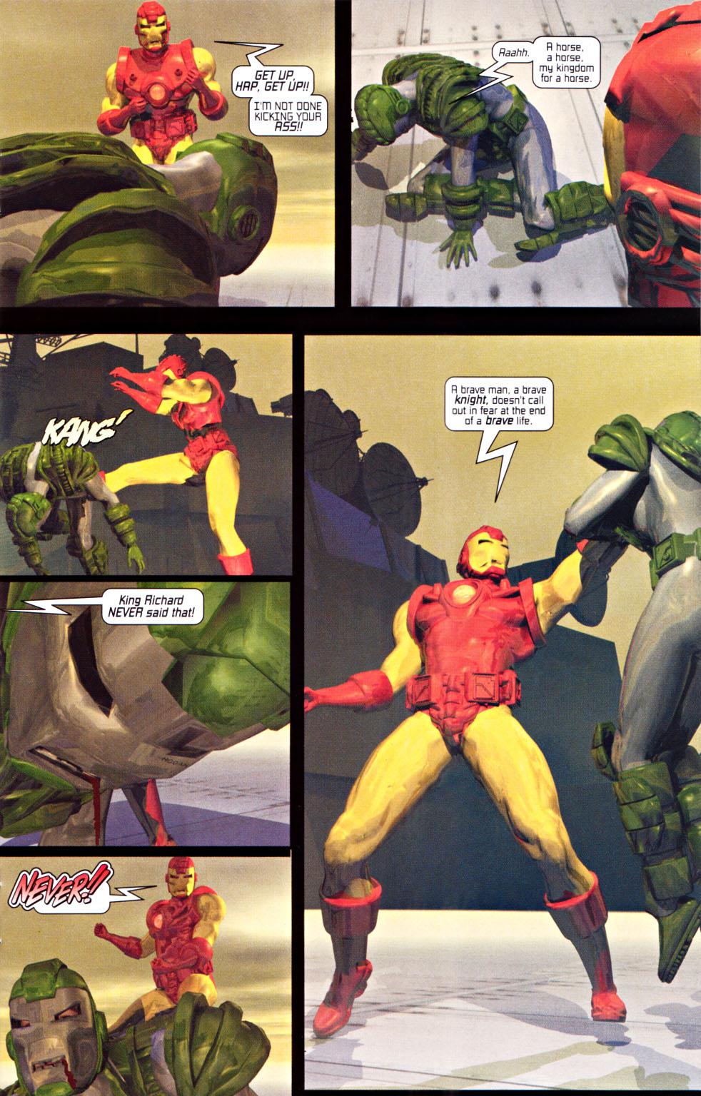 Read online U.S. War Machine 2.0 comic -  Issue #1 - 9