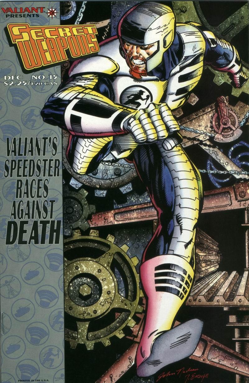 Read online Secret Weapons comic -  Issue #15 - 1
